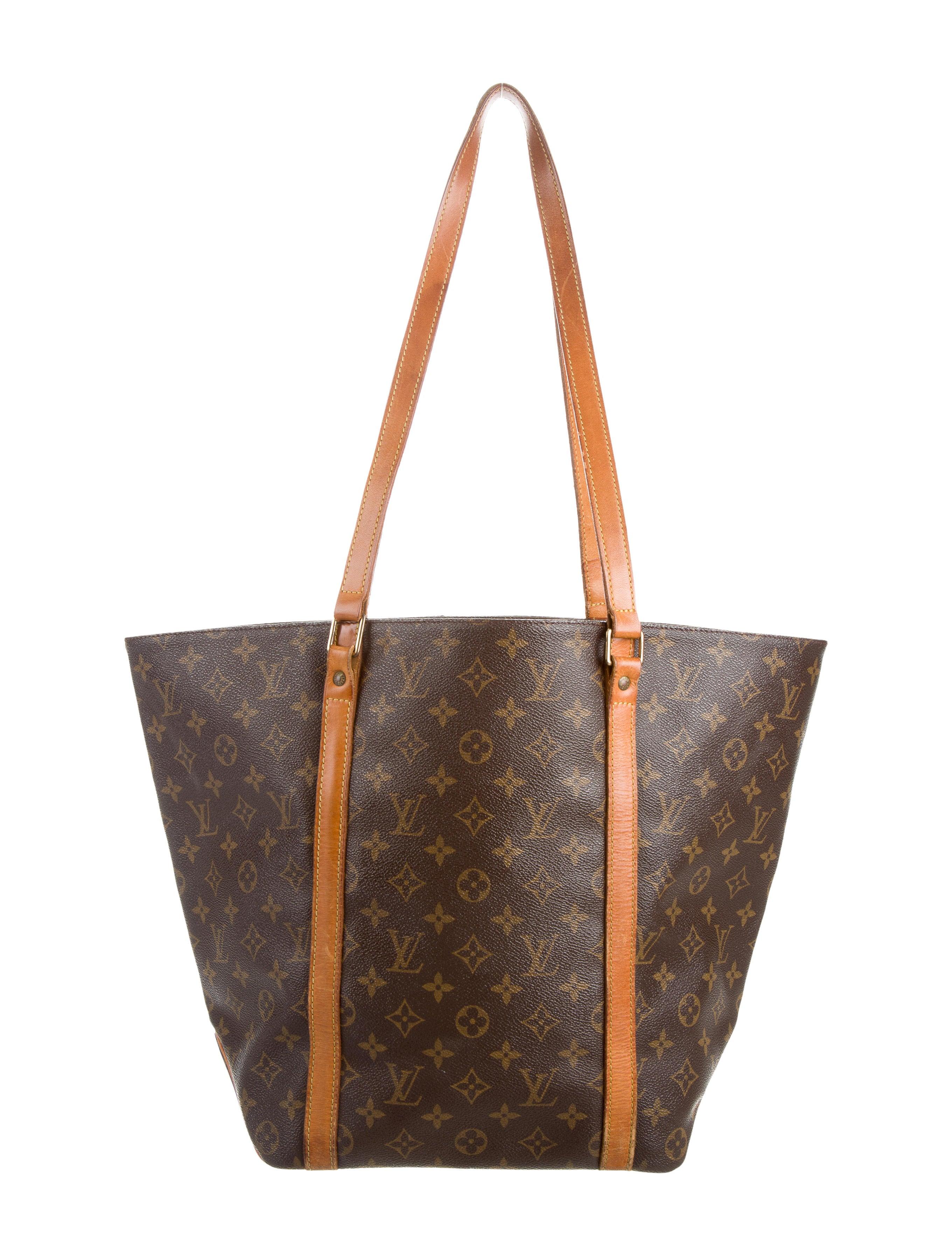 louis vuitton monogram sac shopping tote handbags. Black Bedroom Furniture Sets. Home Design Ideas