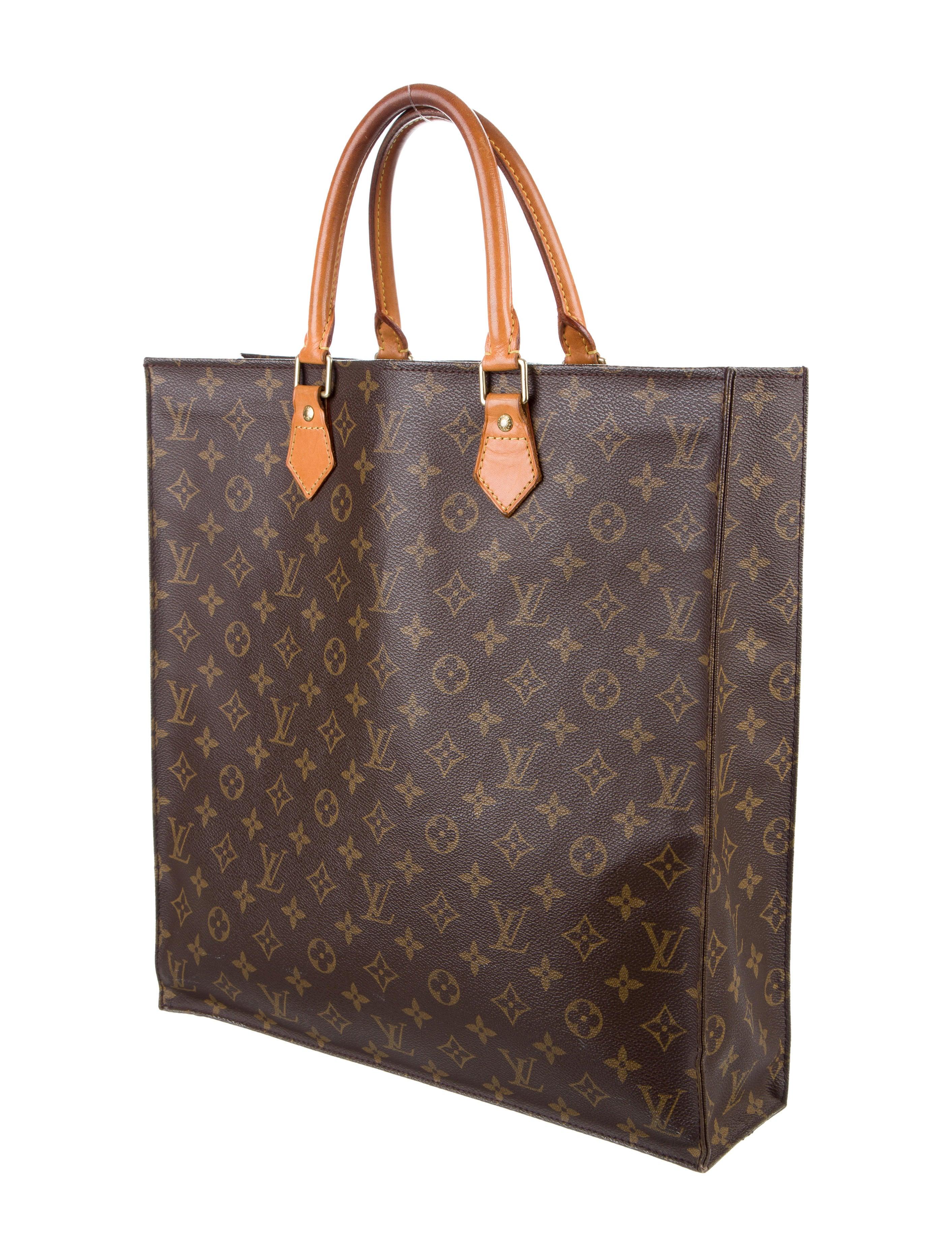Louis vuitton monogram sac plat handbags lou121387 for Louis vuitton monogram miroir sac plat