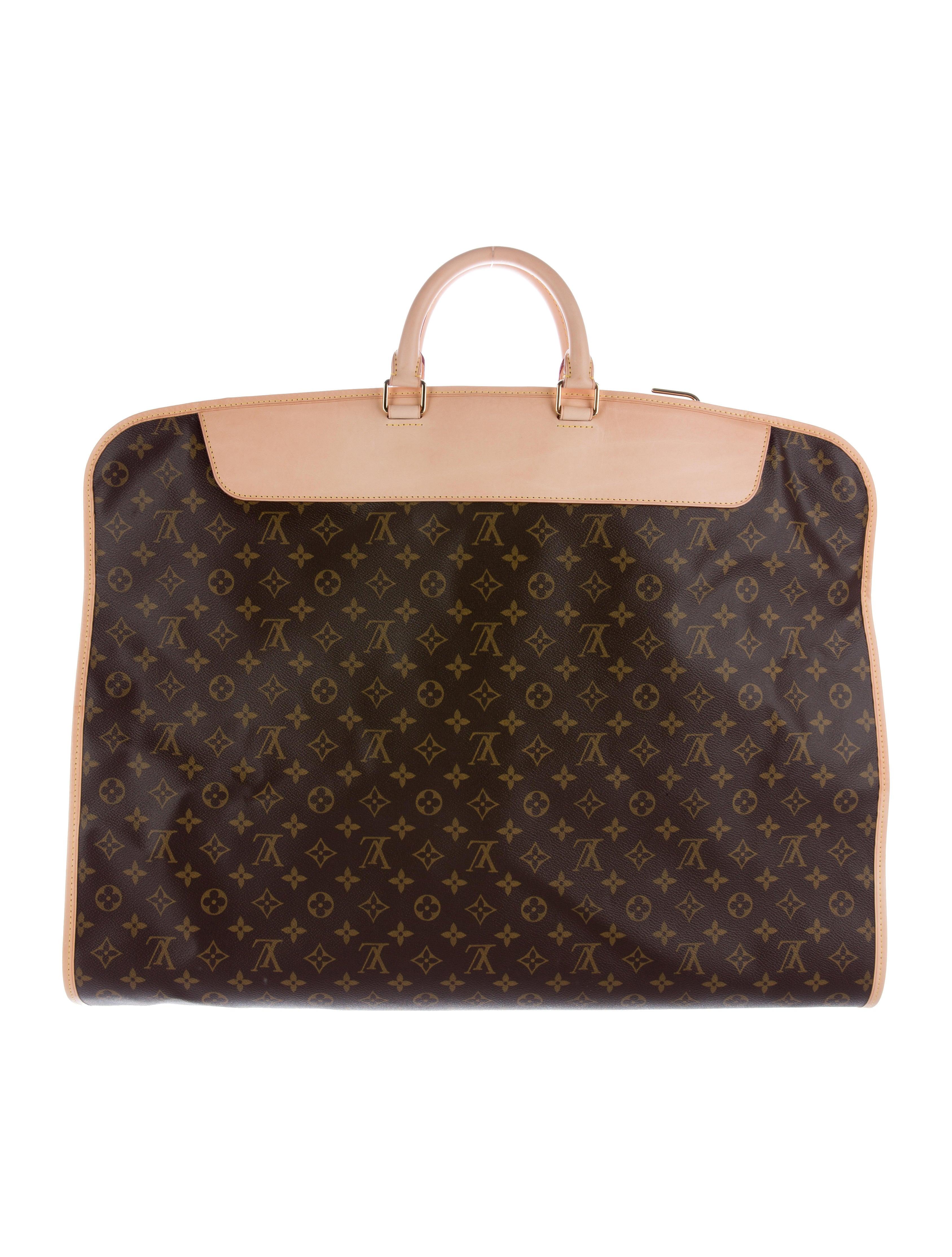 Louis Vuitton Monogram Garment Cover W 2 Hangers Bags