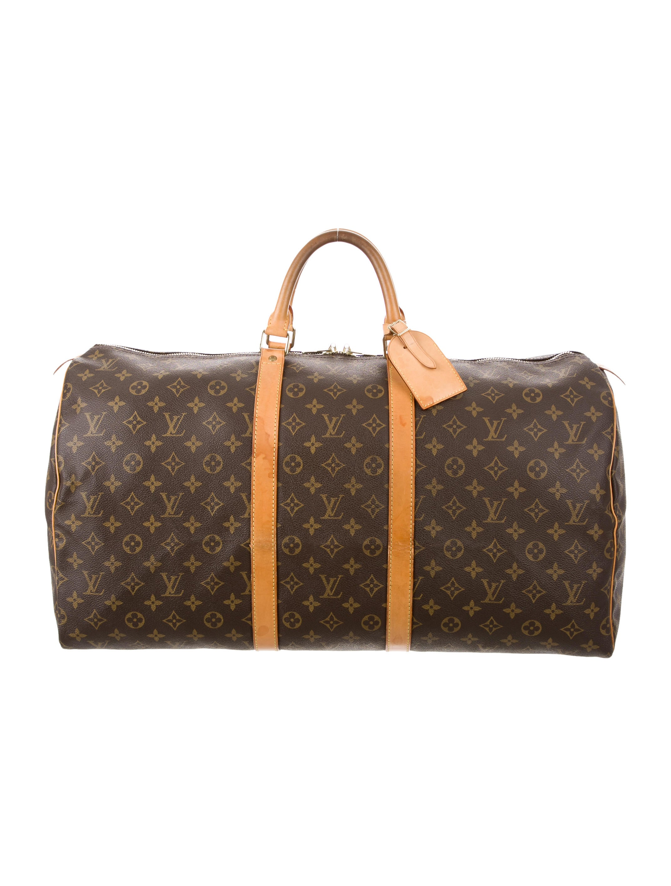 louis vuitton monogram keepall 55 bags lou121574 the. Black Bedroom Furniture Sets. Home Design Ideas