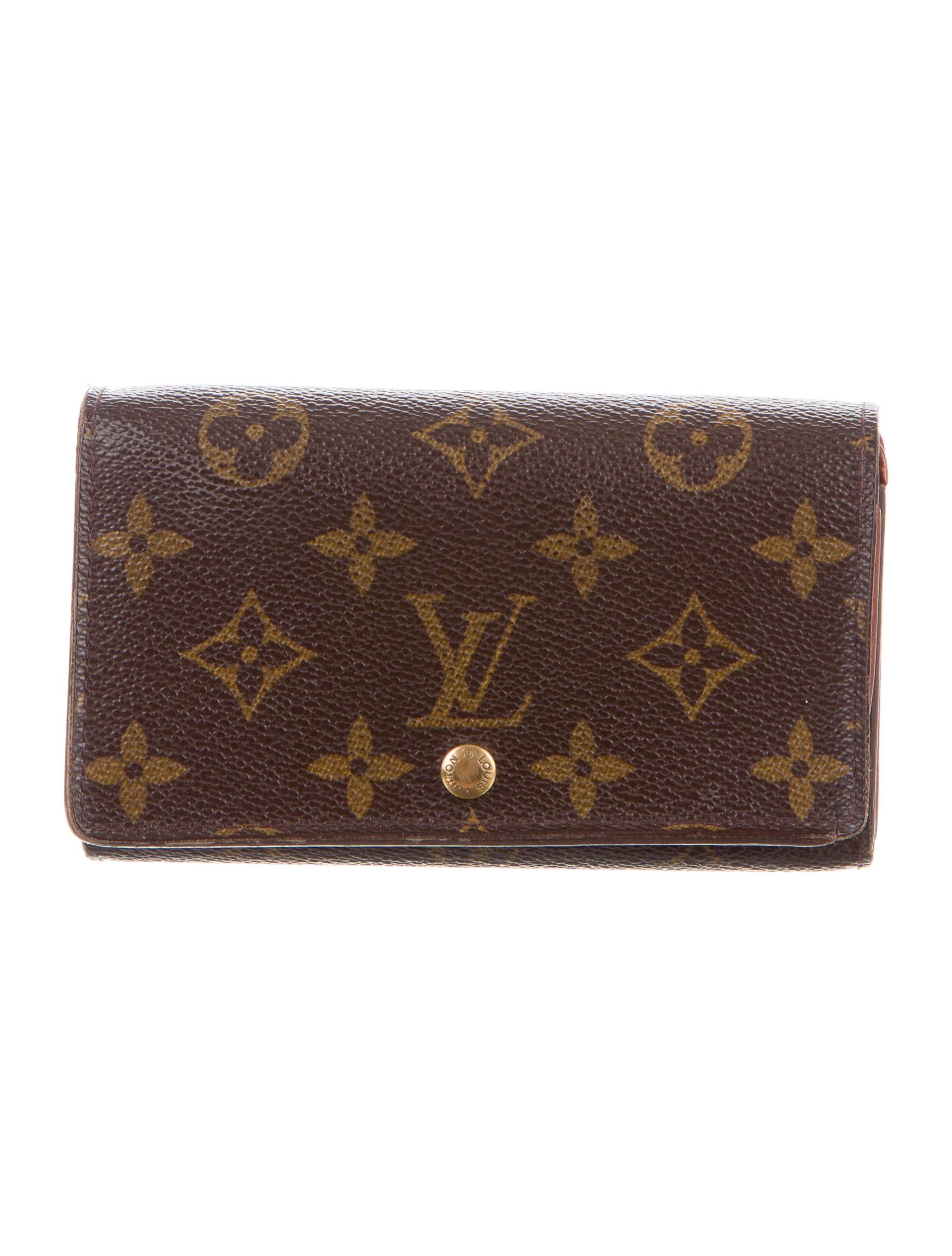 louis vuitton porte monnaie billets tr sor wallet