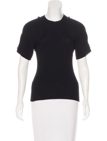 Louis Vuitton Wool & Cashmere Knit Top None
