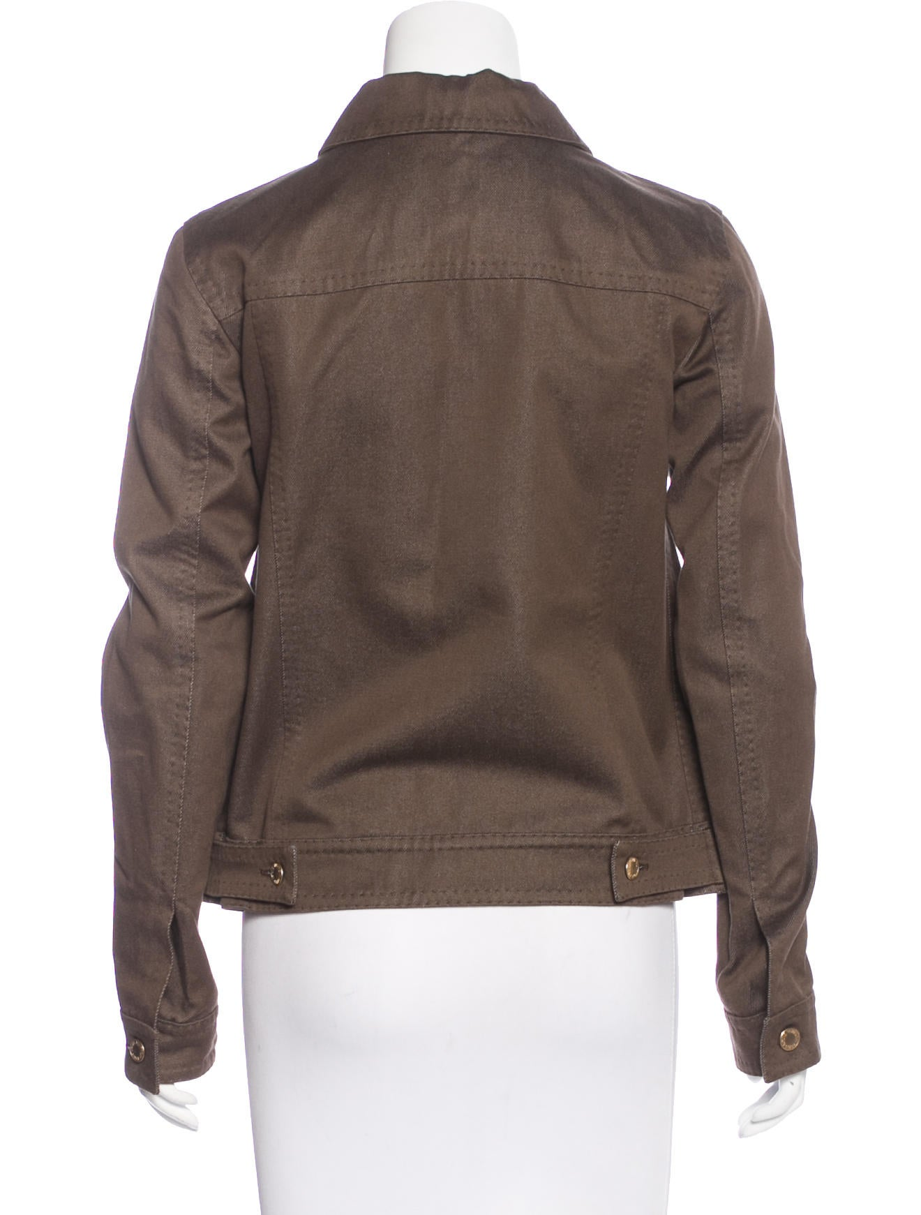 louis vuitton long sleeve denim jacket clothing. Black Bedroom Furniture Sets. Home Design Ideas