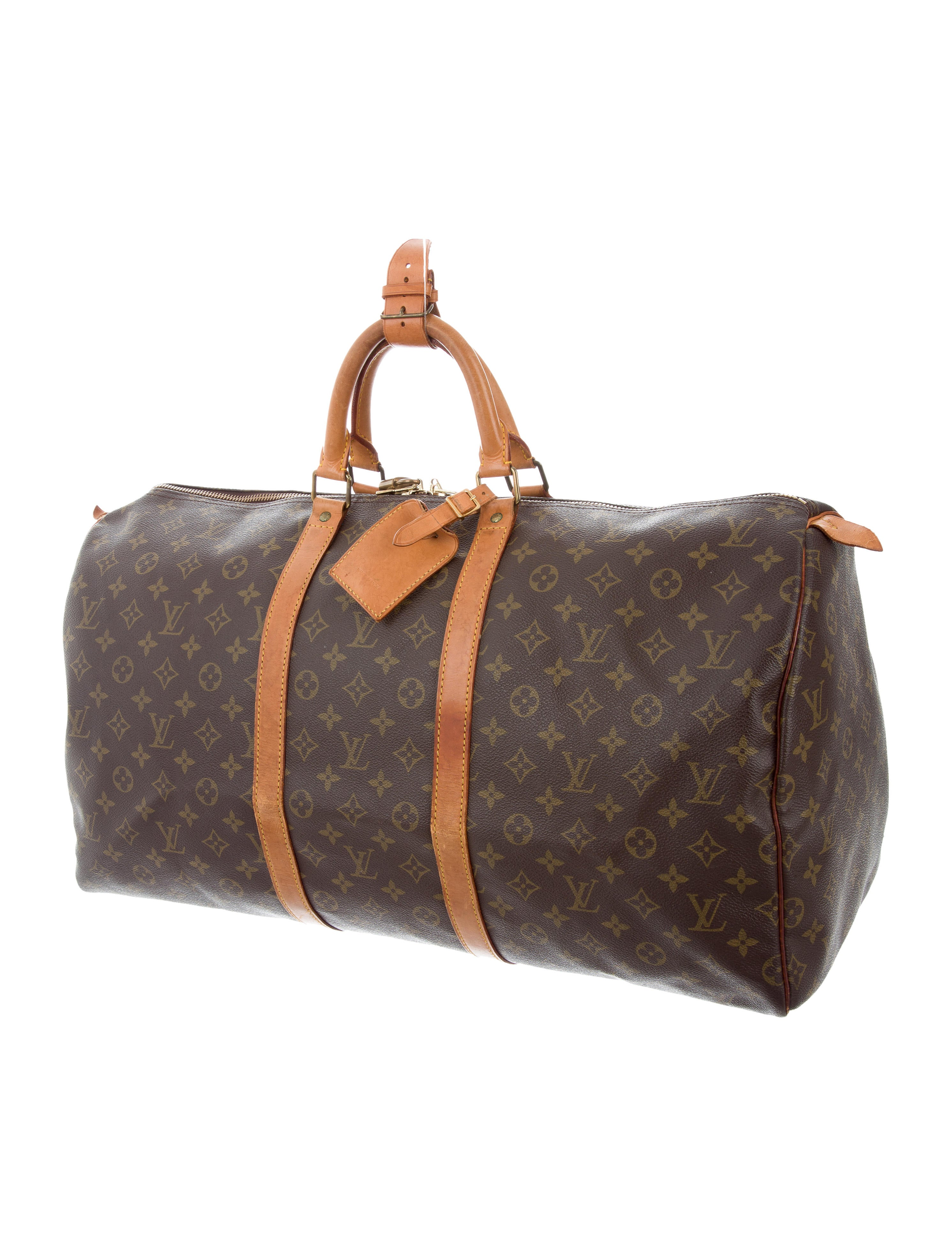 louis vuitton monogram keepall 55 handbags lou122218. Black Bedroom Furniture Sets. Home Design Ideas