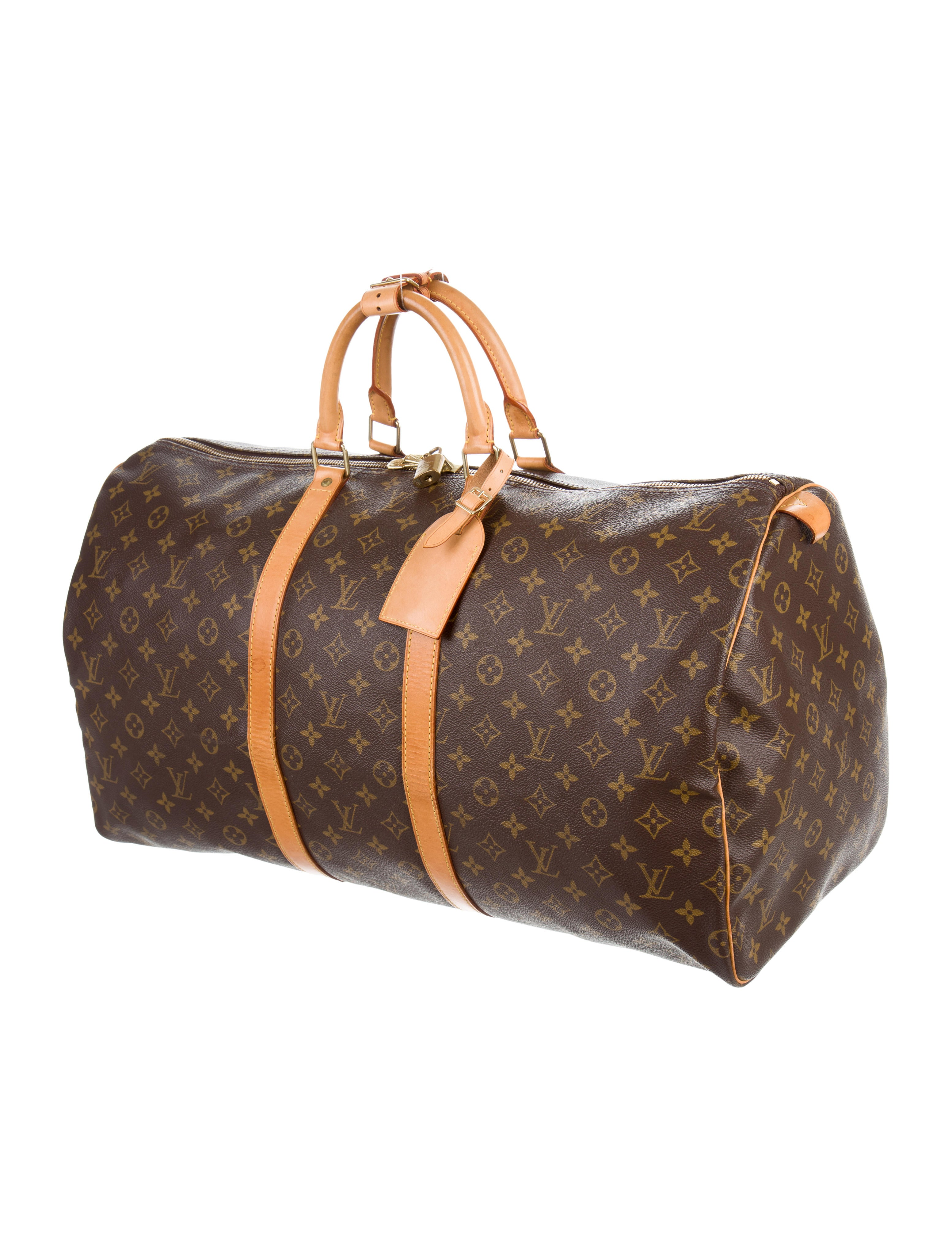 louis vuitton monogram keepall 55 bags lou122341 the. Black Bedroom Furniture Sets. Home Design Ideas
