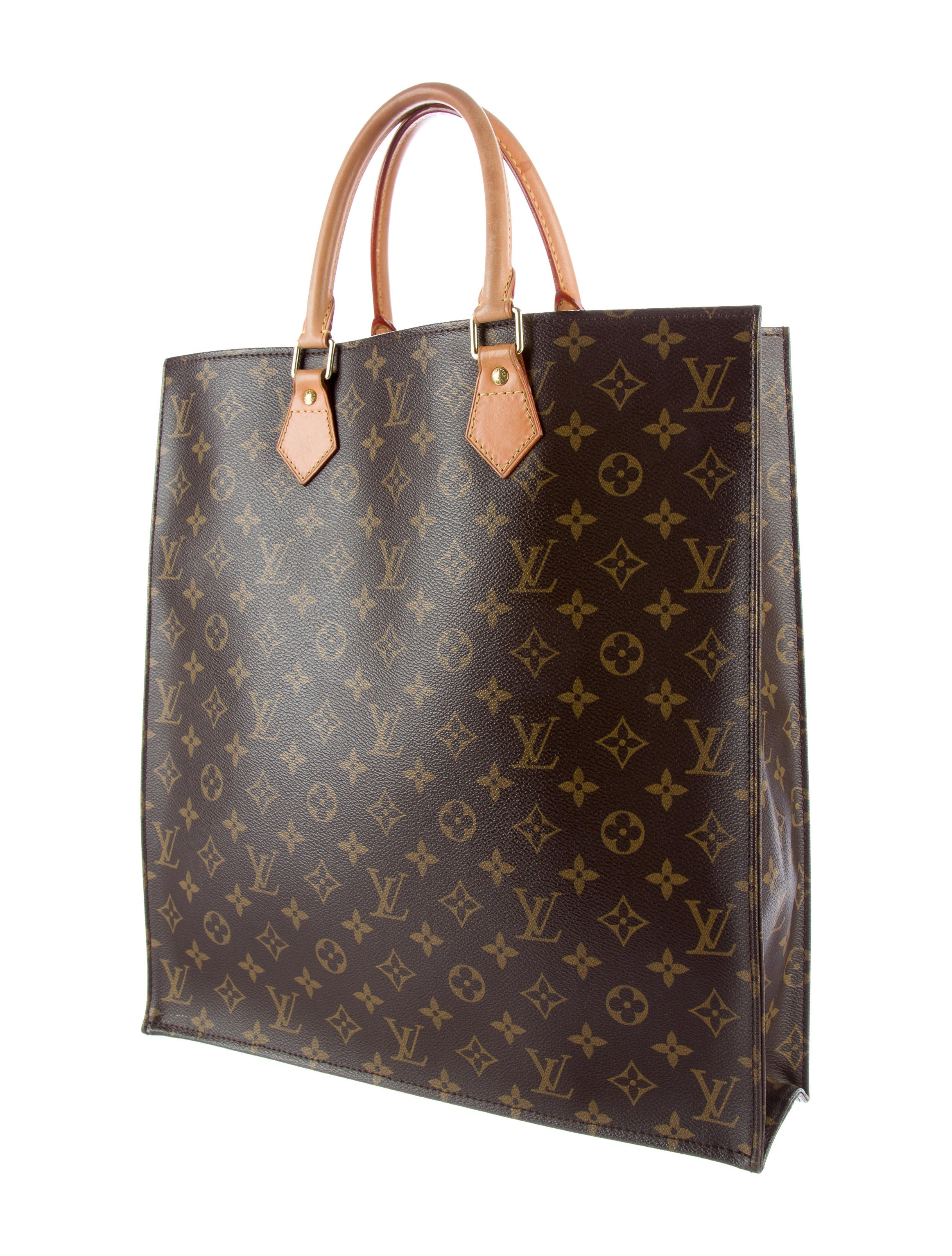 Louis vuitton monogram sac plat bags lou122474 the for Louis vuitton monogram miroir sac plat