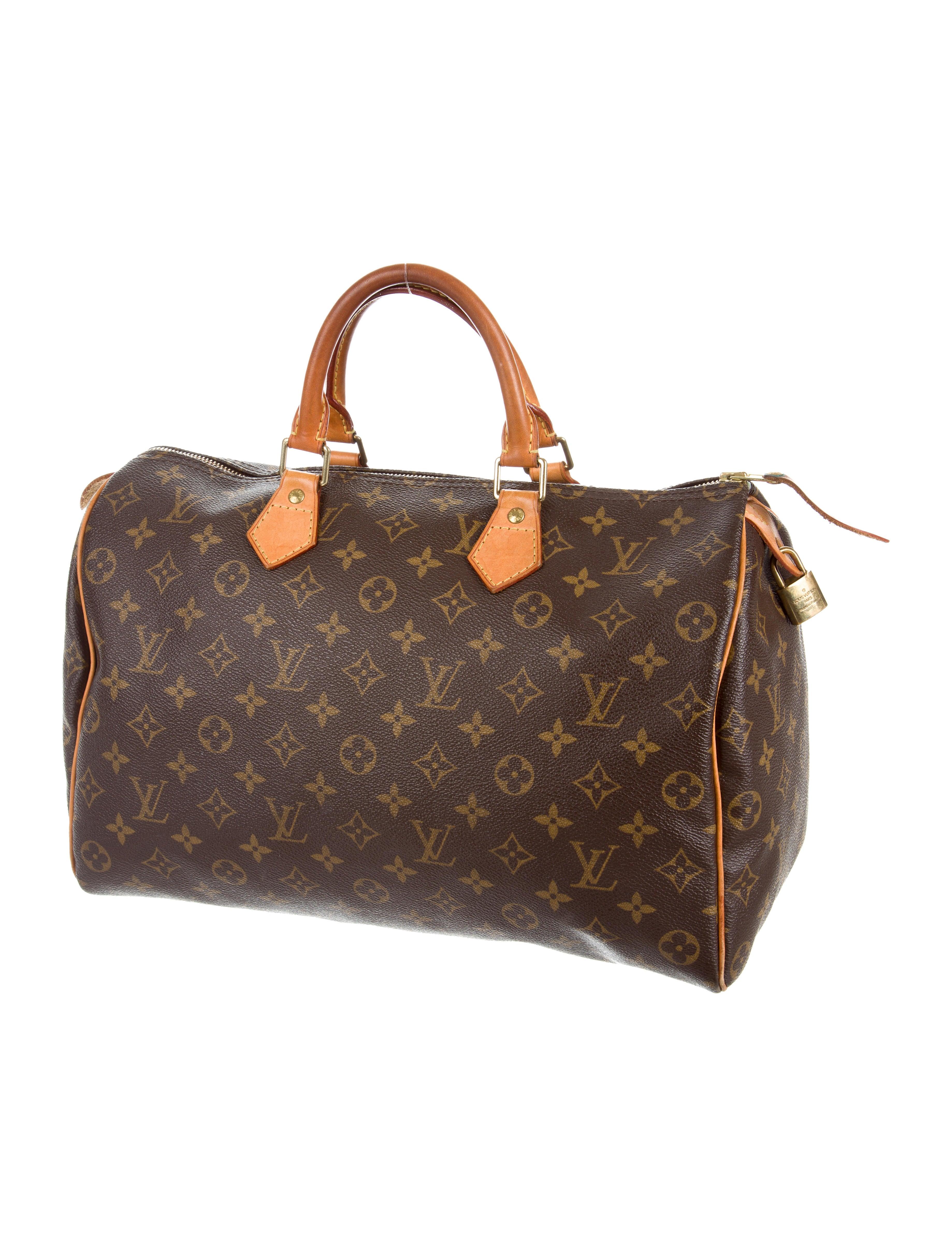 Louis vuitton monogram speedy 35 handbags lou122733 for Louis vuitton miroir speedy 35