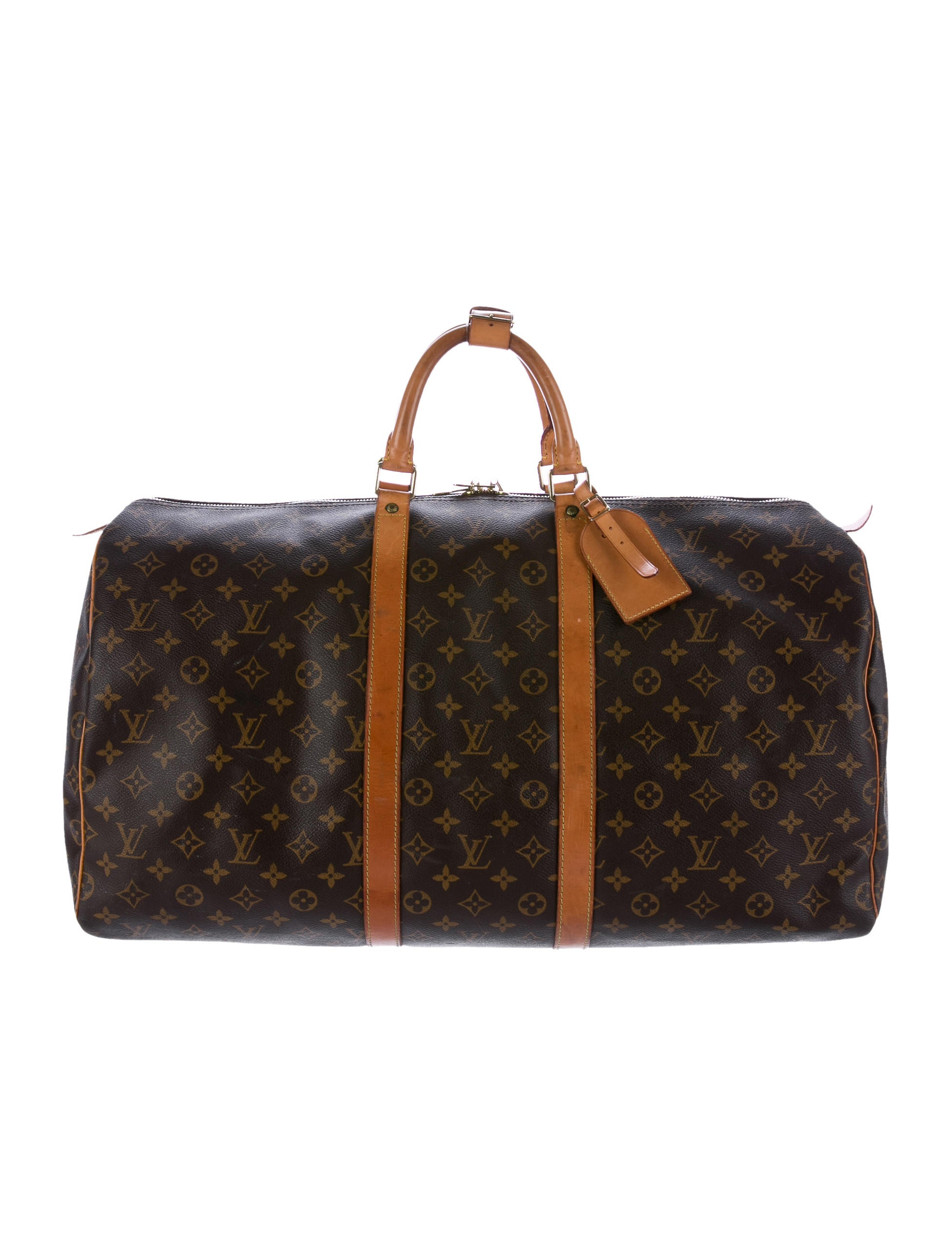 louis vuitton monogram keepall 55 bags lou122850 the. Black Bedroom Furniture Sets. Home Design Ideas
