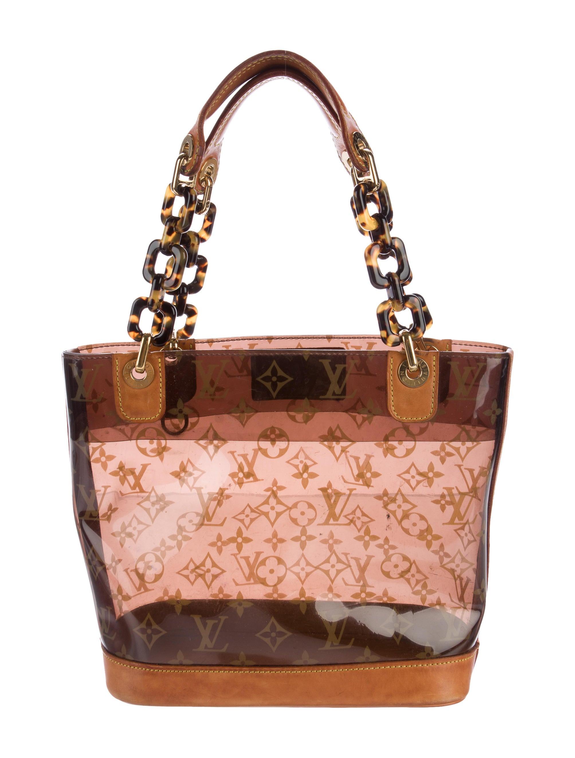 Sac Louis Vuitton Matelassé : Louis vuitton cabas sac ambre pm handbags lou