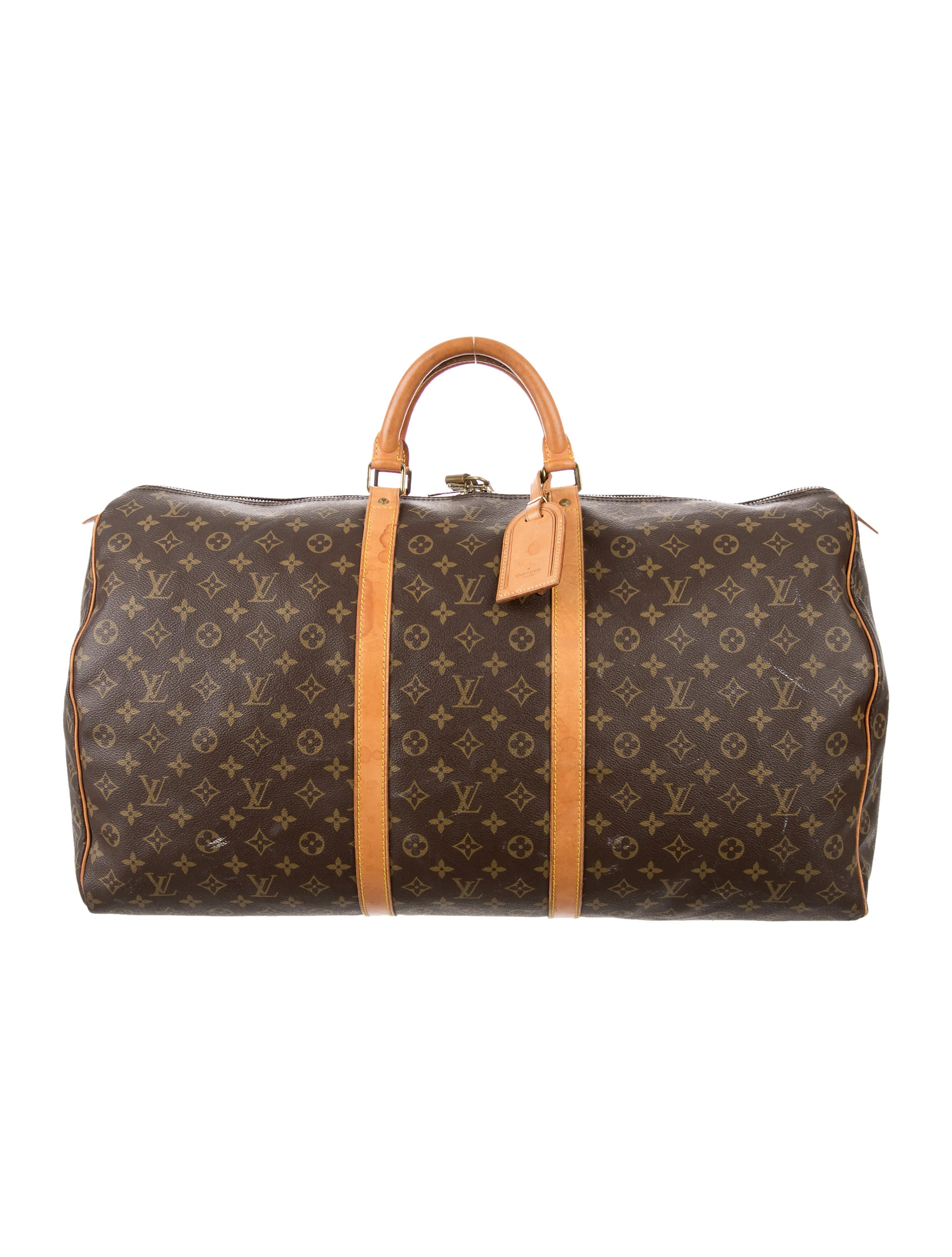 louis vuitton monogram keepall 60 luggage lou123051. Black Bedroom Furniture Sets. Home Design Ideas