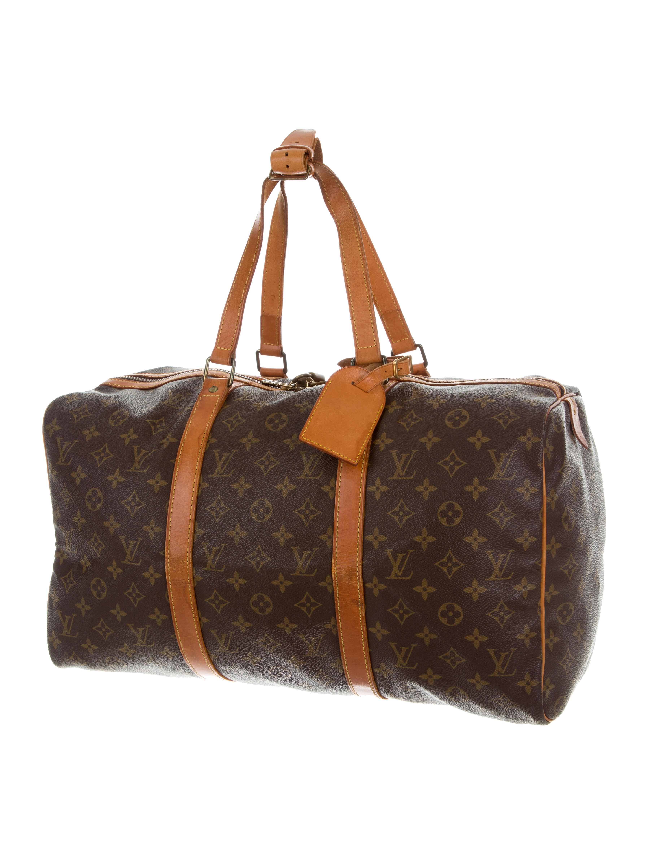 louis vuitton monogram sac souple 45 bags lou123175 the realreal. Black Bedroom Furniture Sets. Home Design Ideas