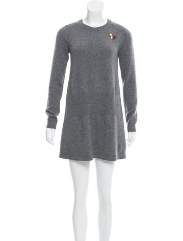 Louis Vuitton Cashmere Sweater Dress None