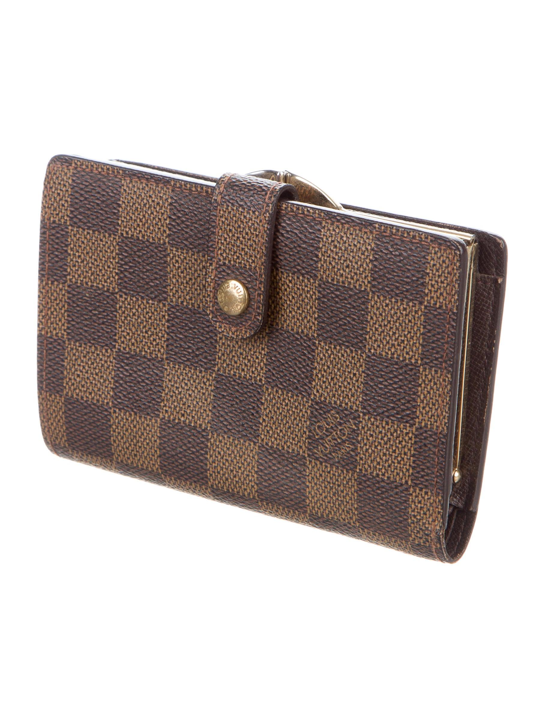 Louis Vuitton Damier Ebene French Purse Wallet - Accessories ... f0741ecd1b
