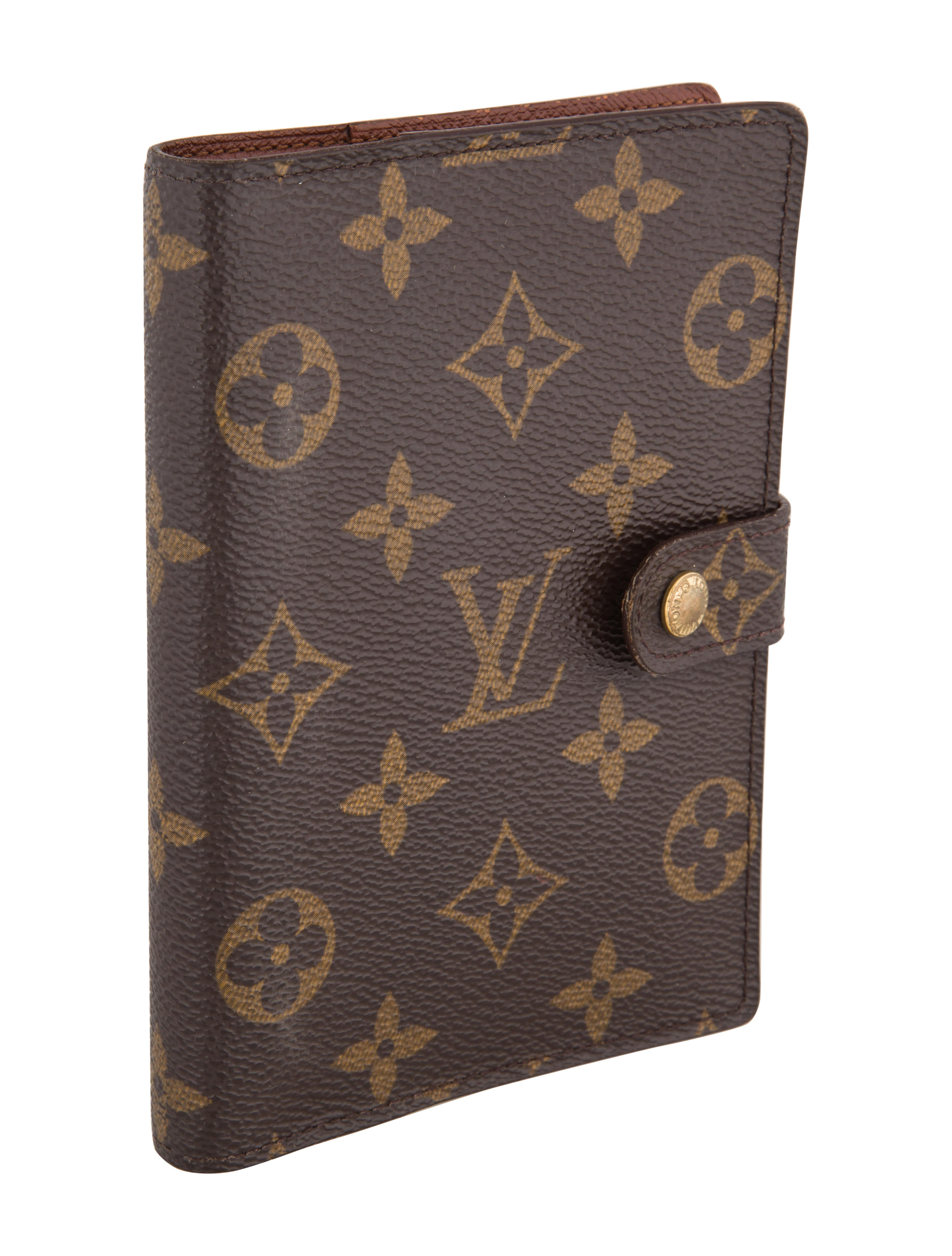 Louis Vuitton Monogram Agenda Cover Decor And