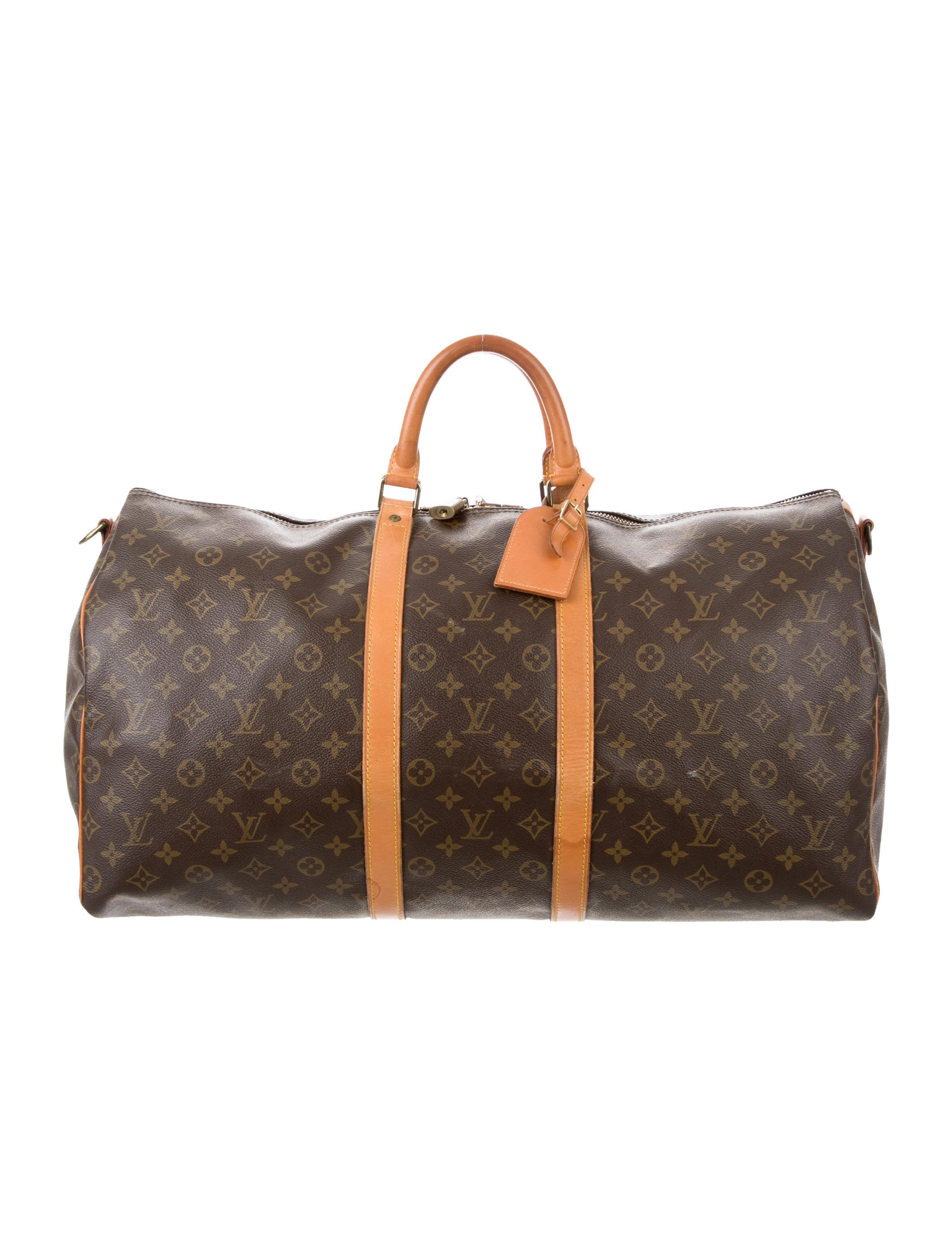 louis vuitton monogram keepall bandouli re 55 bags. Black Bedroom Furniture Sets. Home Design Ideas