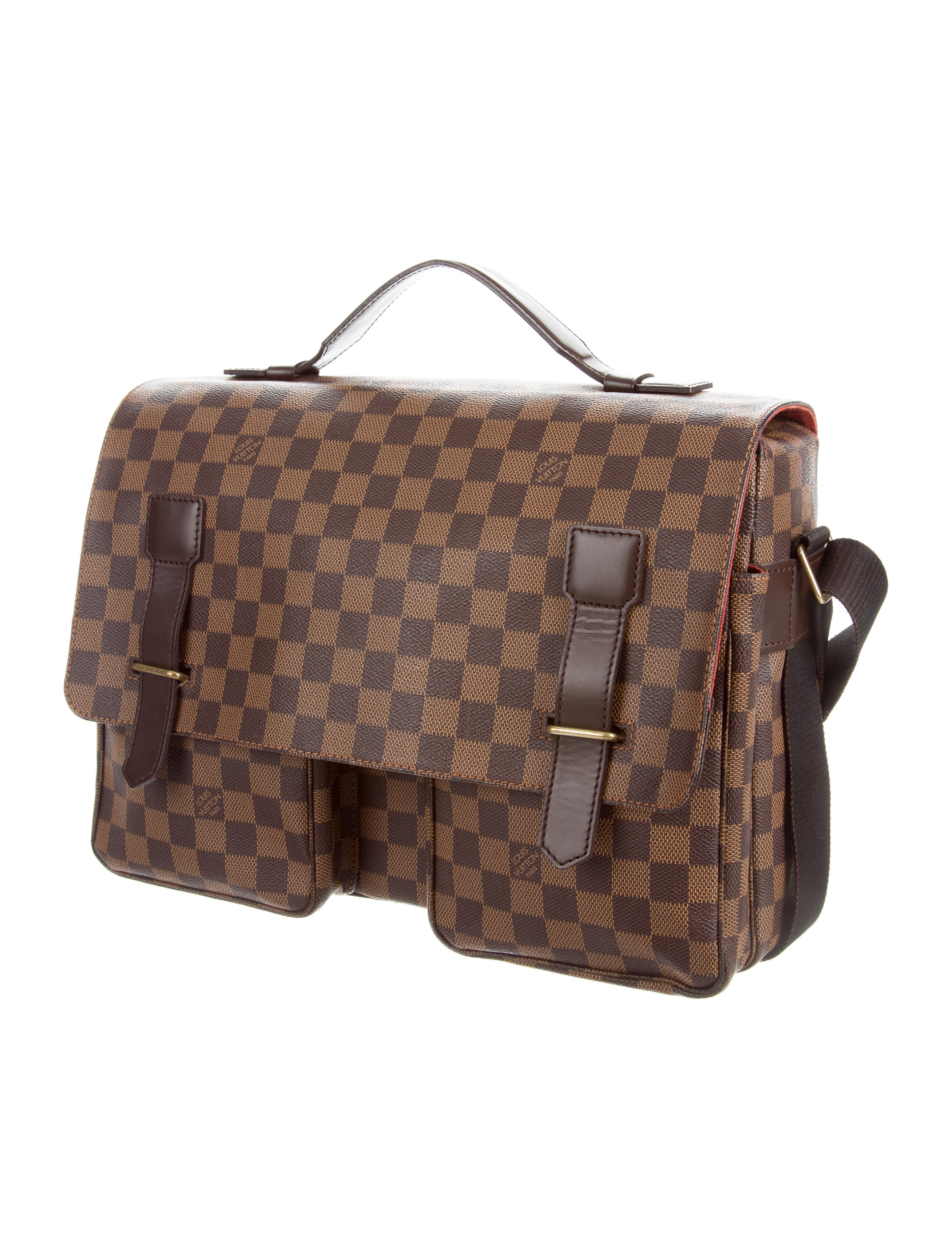 Simple Louis Vuitton Messenger Bag In Brown | Lyst