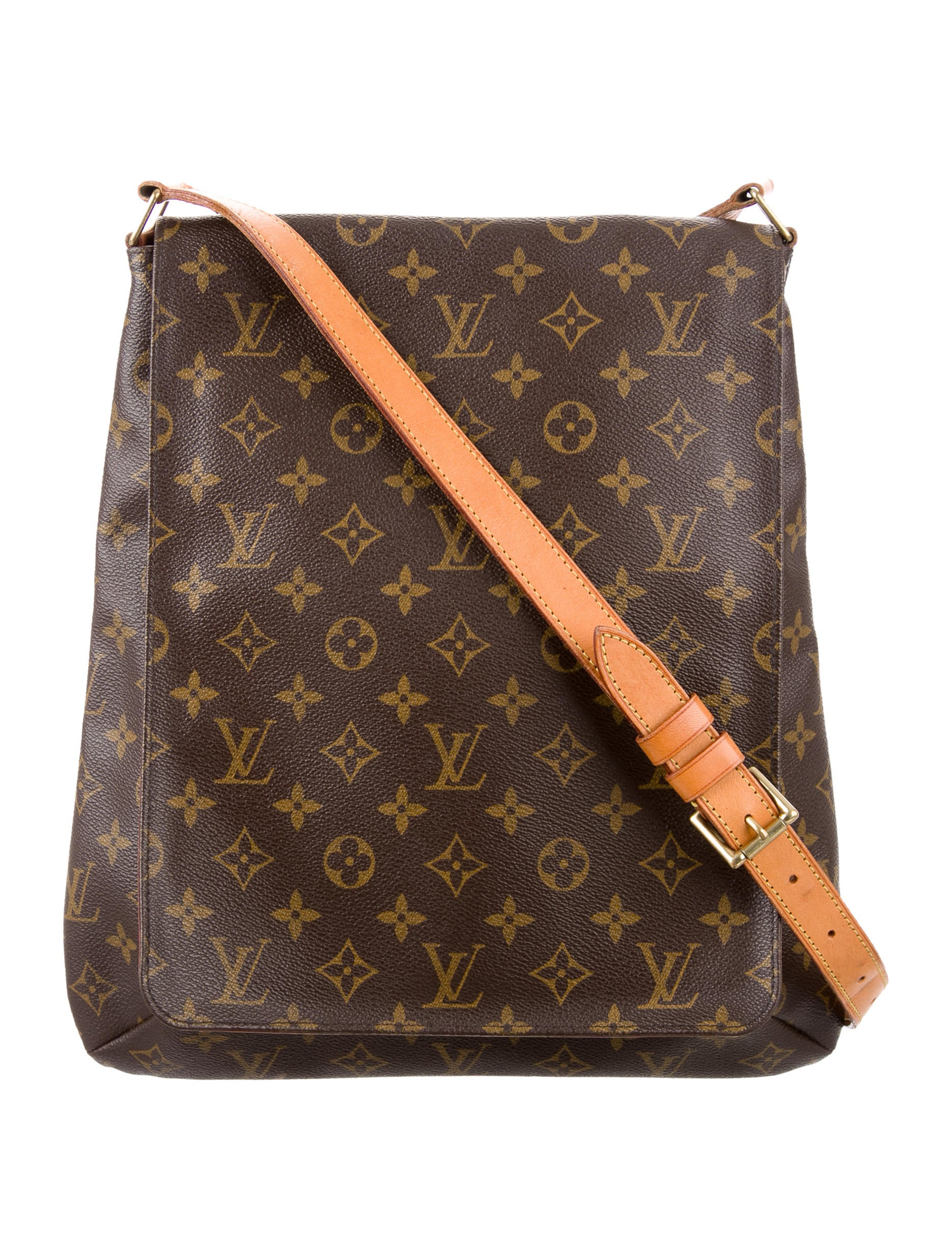 louis vuitton monogram musette salsa gm handbags lou123422 the realreal. Black Bedroom Furniture Sets. Home Design Ideas