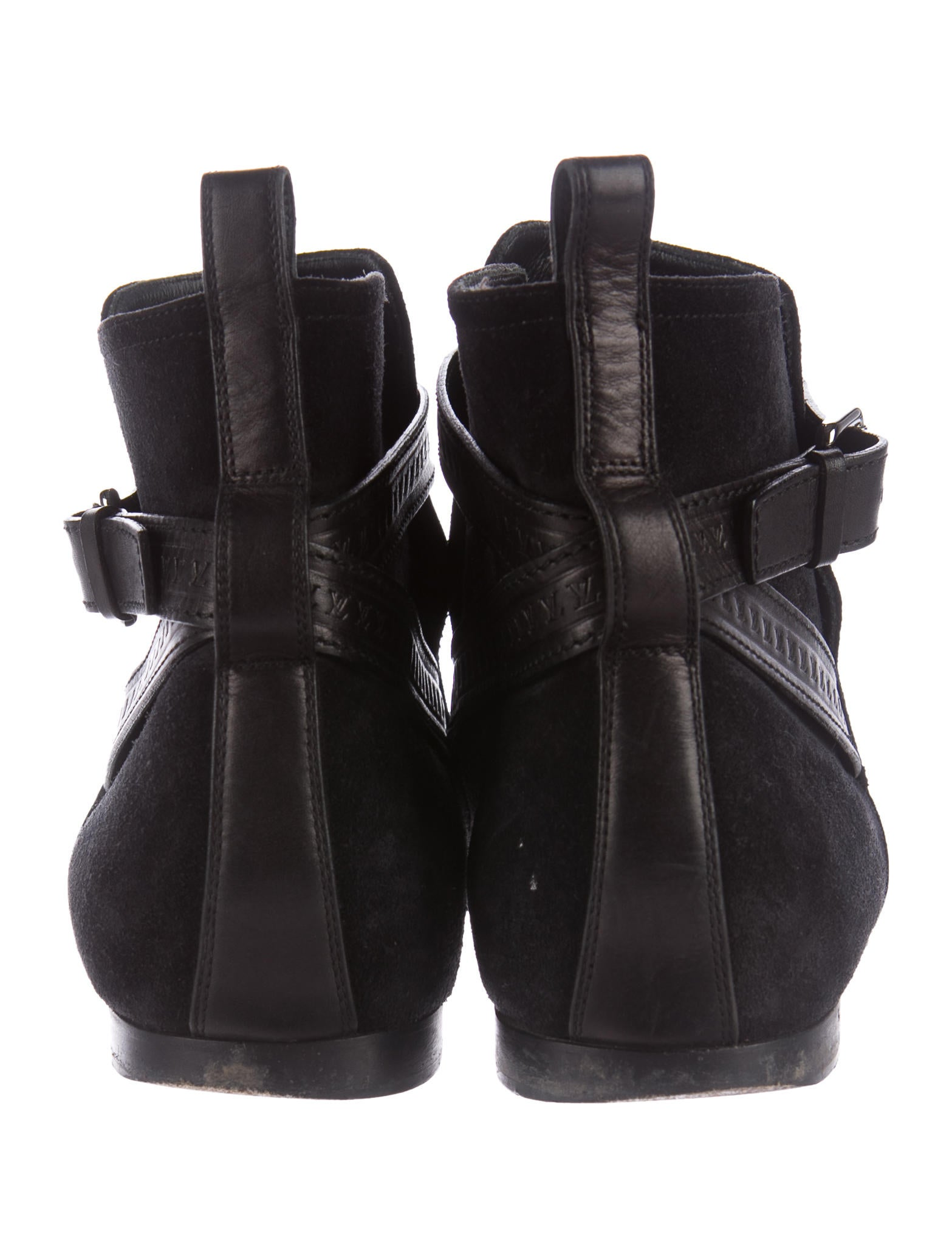 louis vuitton suede ankle boots shoes lou123467 the