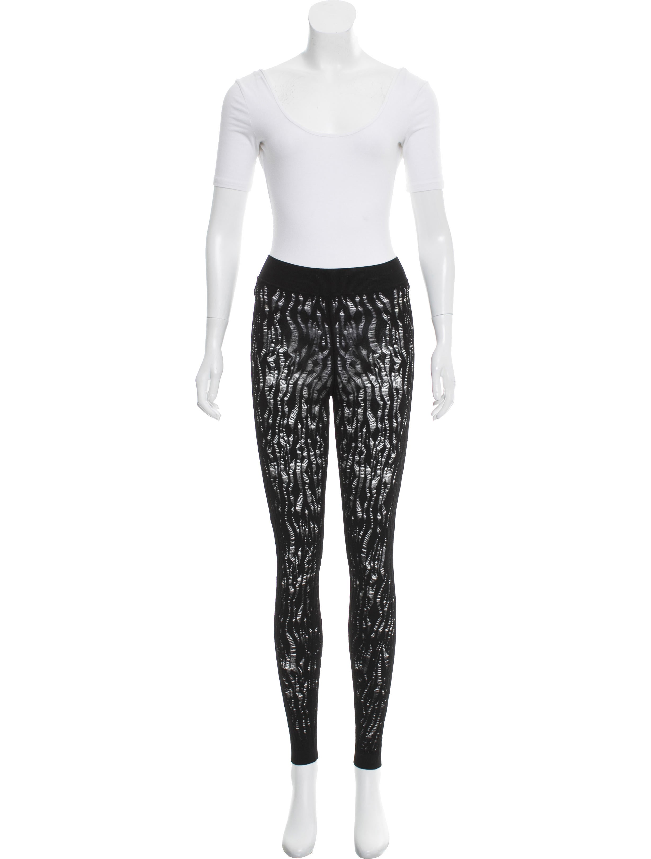 Louis Vuitton Semi-Sheer Cutout Pant Set - Clothing ...
