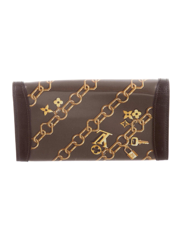 Louis vuitton charms porte monnaie wallet accessories for Porte monnaie wallet