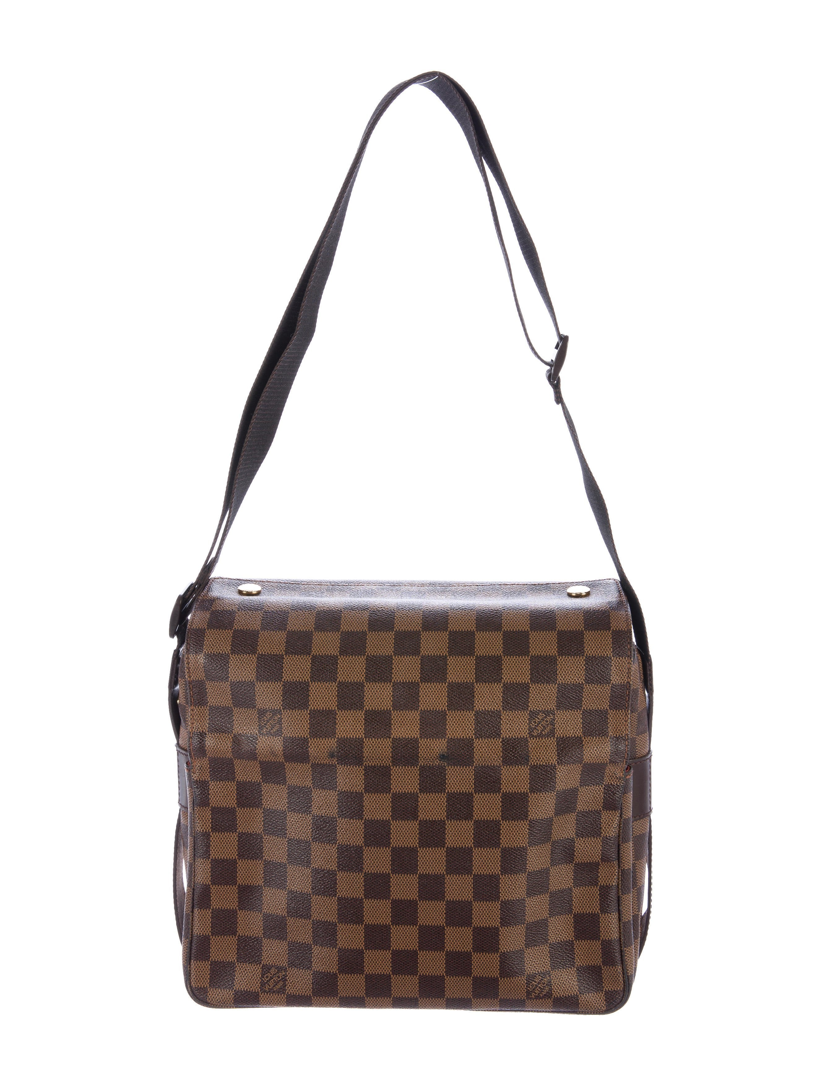 Creative Louis Vuitton Damier Naviglio Messenger Bag - Handbags - LOU120852 | The RealReal