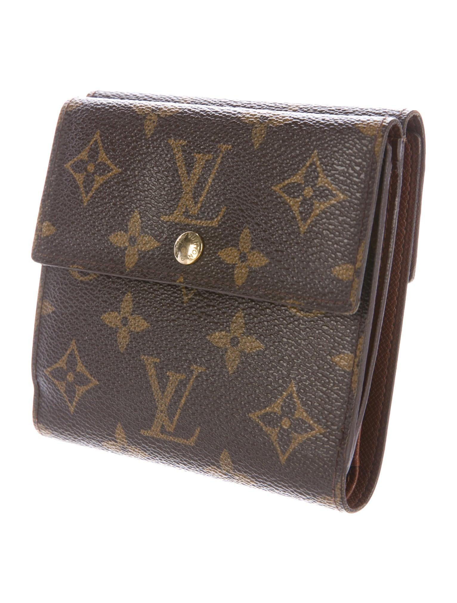 louis vuitton porte monnaie billets carte cr dit accessories lou124225 the realreal