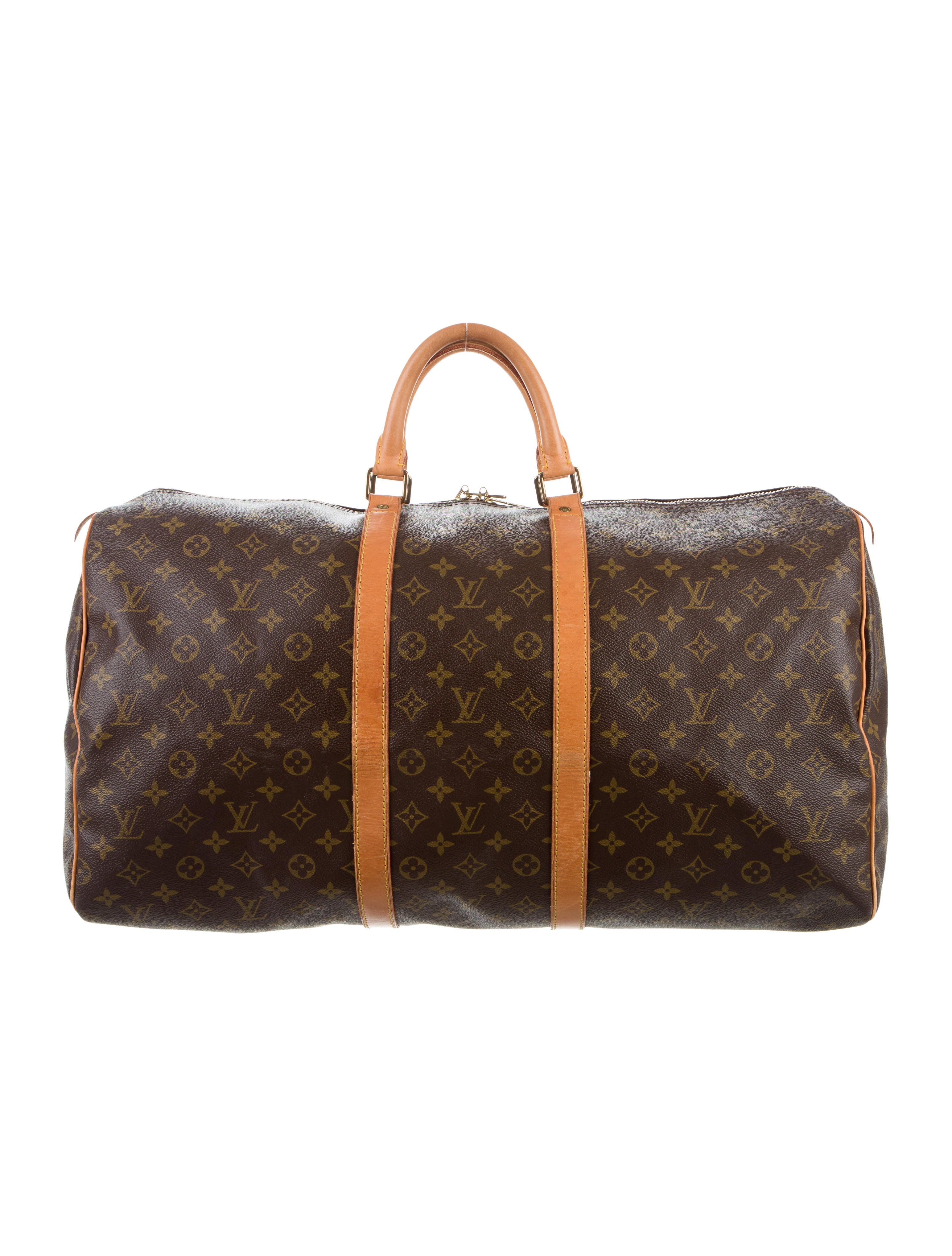 louis vuitton monogram keepall 55 handbags lou124327. Black Bedroom Furniture Sets. Home Design Ideas