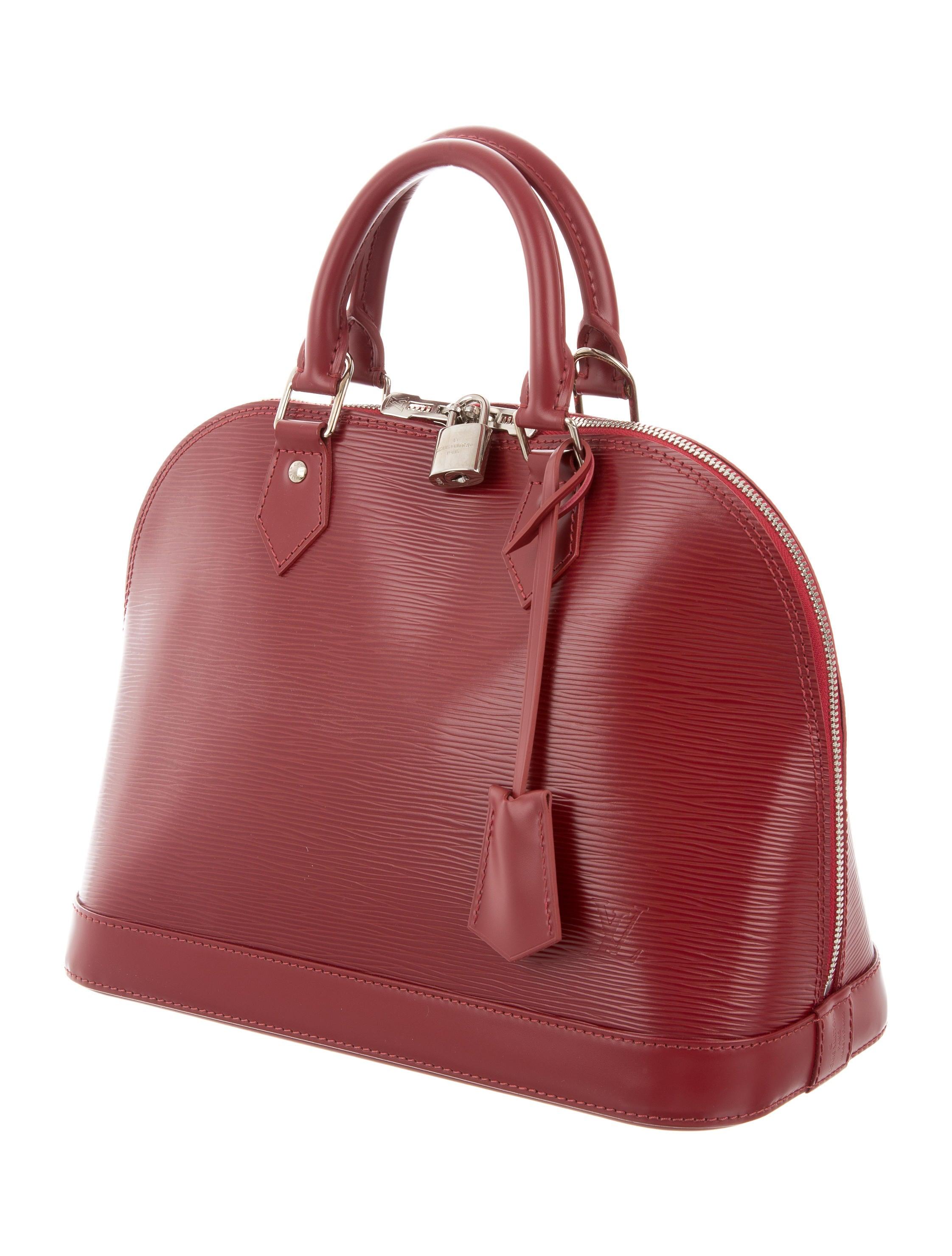 20ea29c844c Louis Vuitton Epi Alma Pm