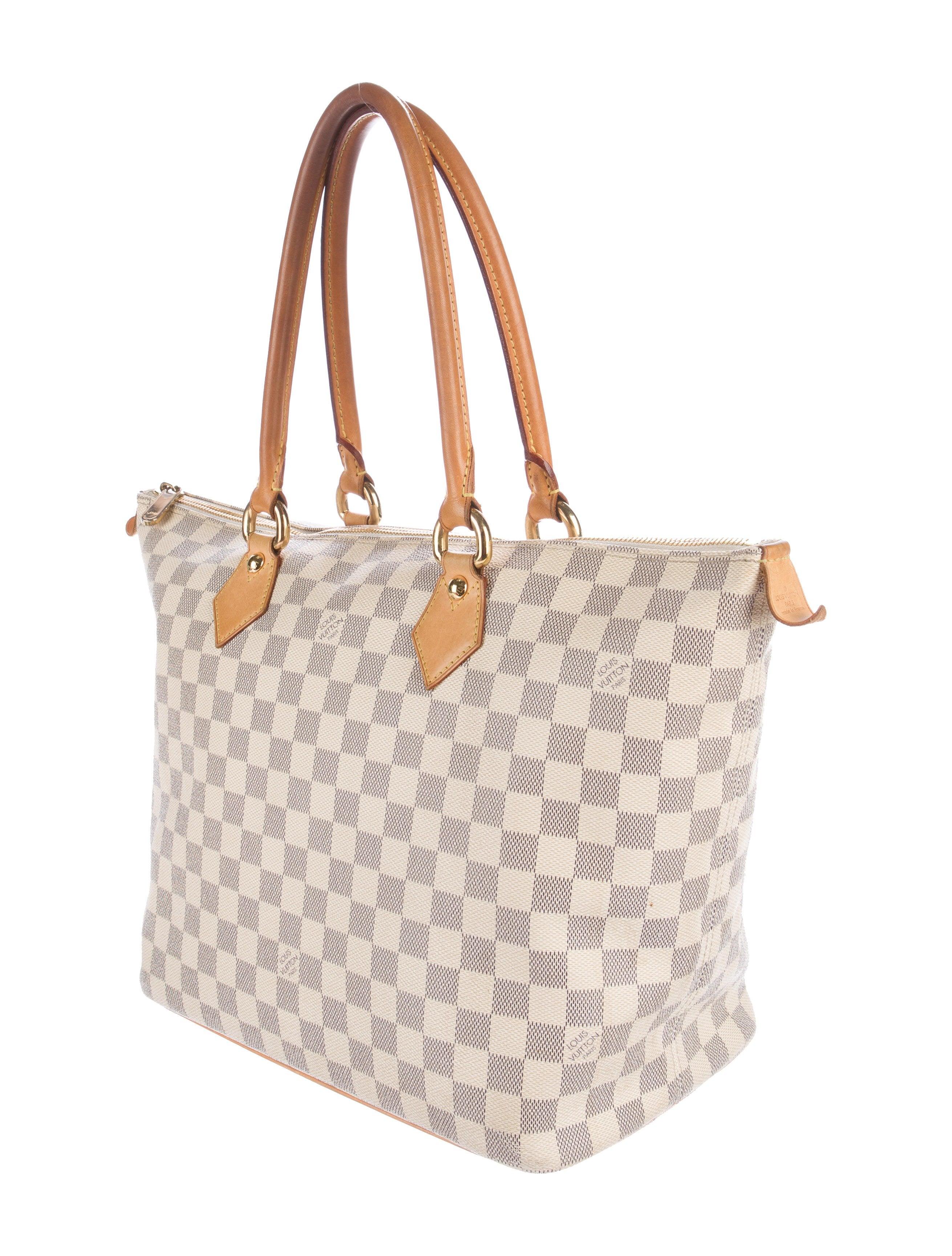 18e56664d48 Louis Vuitton Damier Azur Saleya MM - Handbags - LOU124496