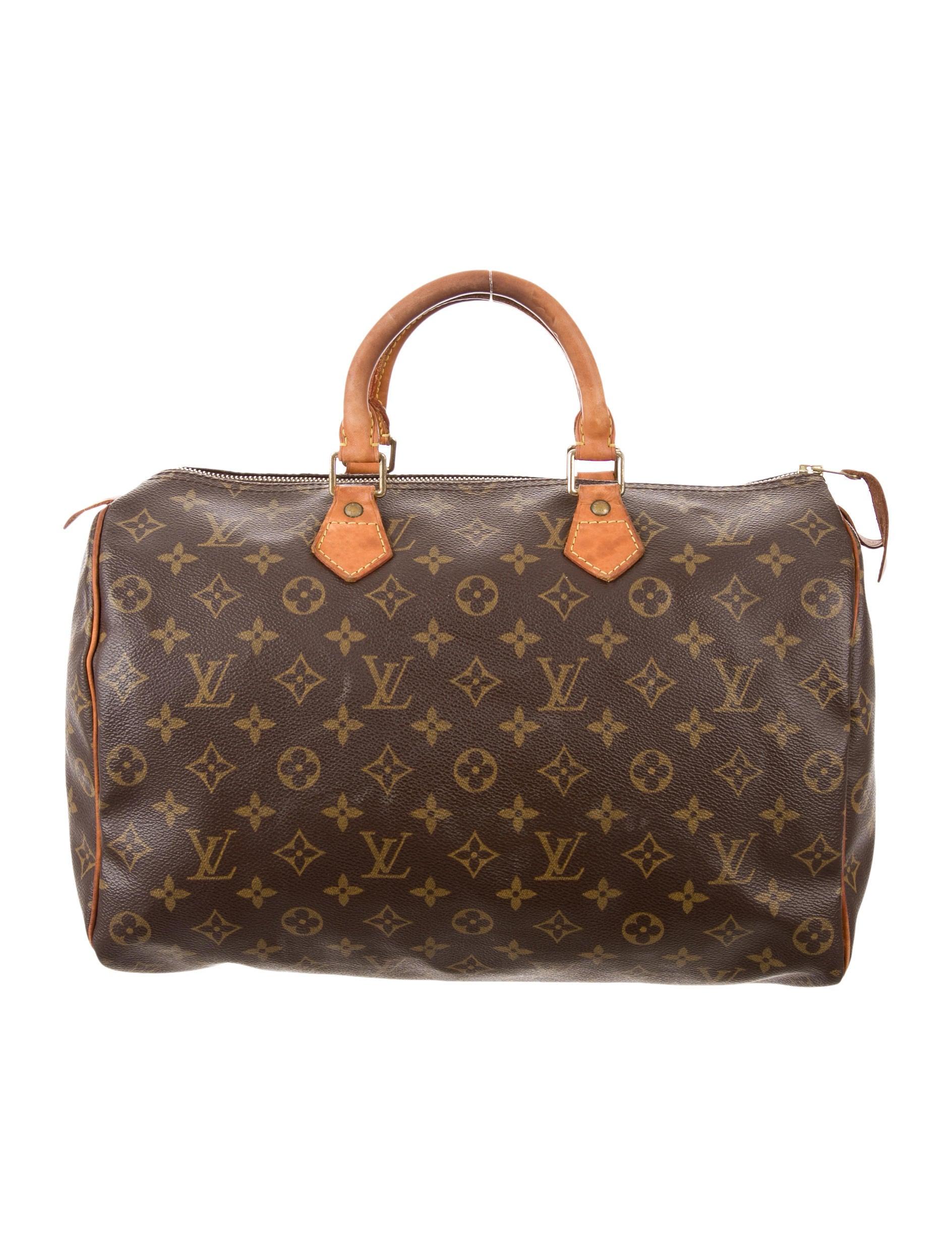 louis vuitton monogram speedy 35 handbags lou125057. Black Bedroom Furniture Sets. Home Design Ideas