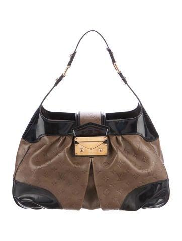 Louis Vuitton Monogram Cuir Embossé Polly Bag None