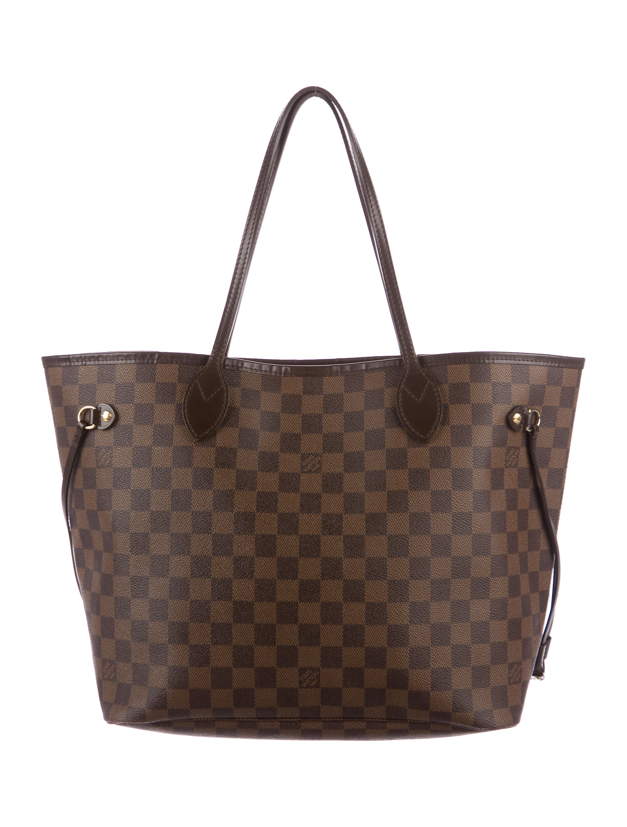 louis vuitton damier ebene neverfull mm handbags. Black Bedroom Furniture Sets. Home Design Ideas