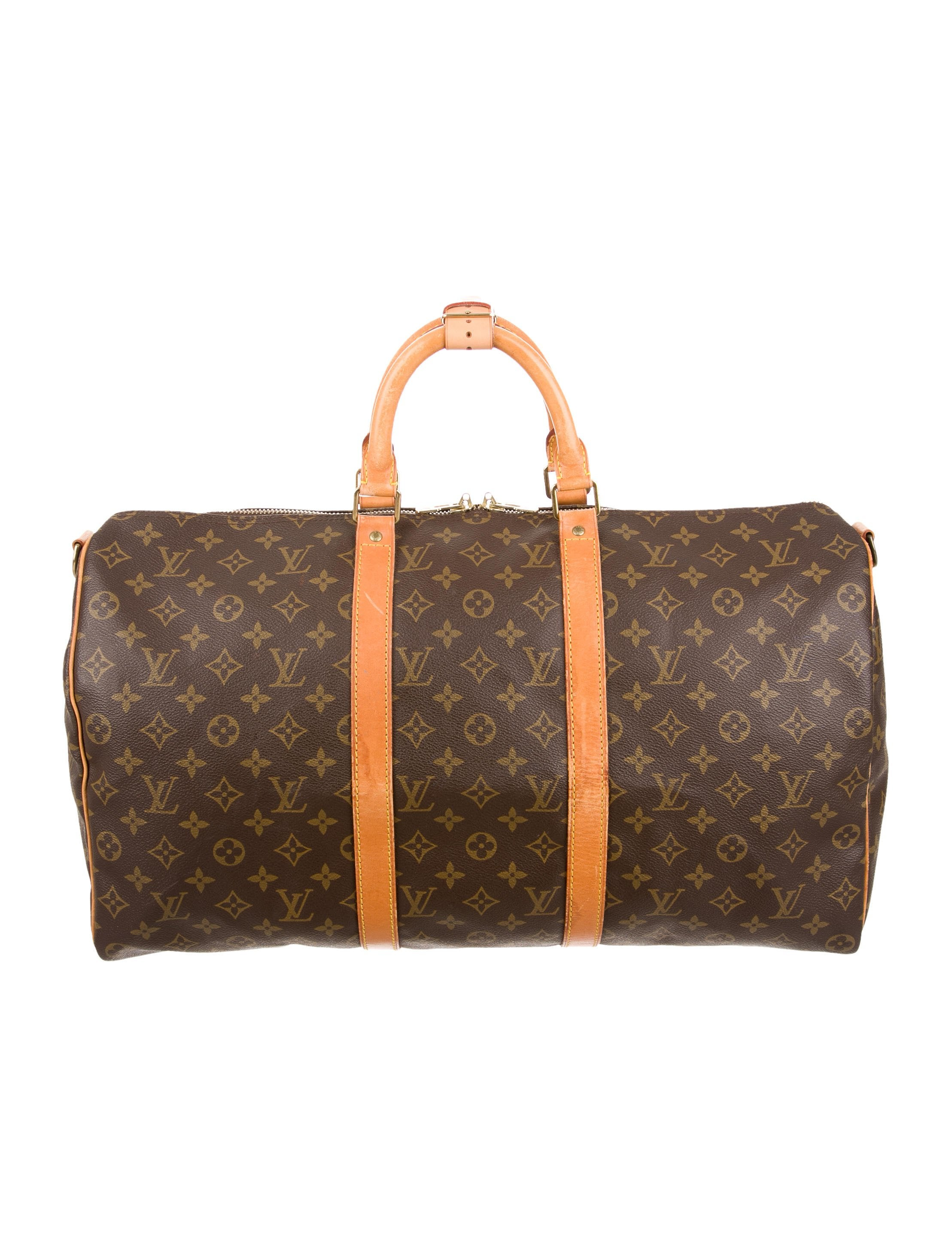 louis vuitton monogram keepall 50 handbags lou125844. Black Bedroom Furniture Sets. Home Design Ideas