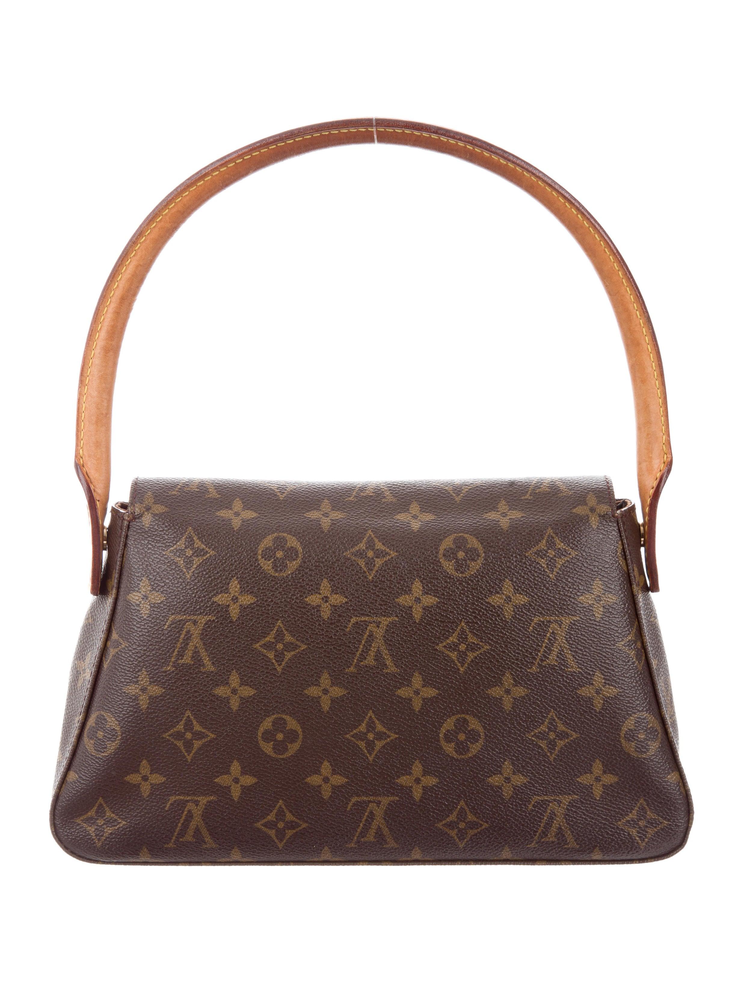 Louis vuitton monogram mini looping bag handbags for Louis vuitton miroir bags