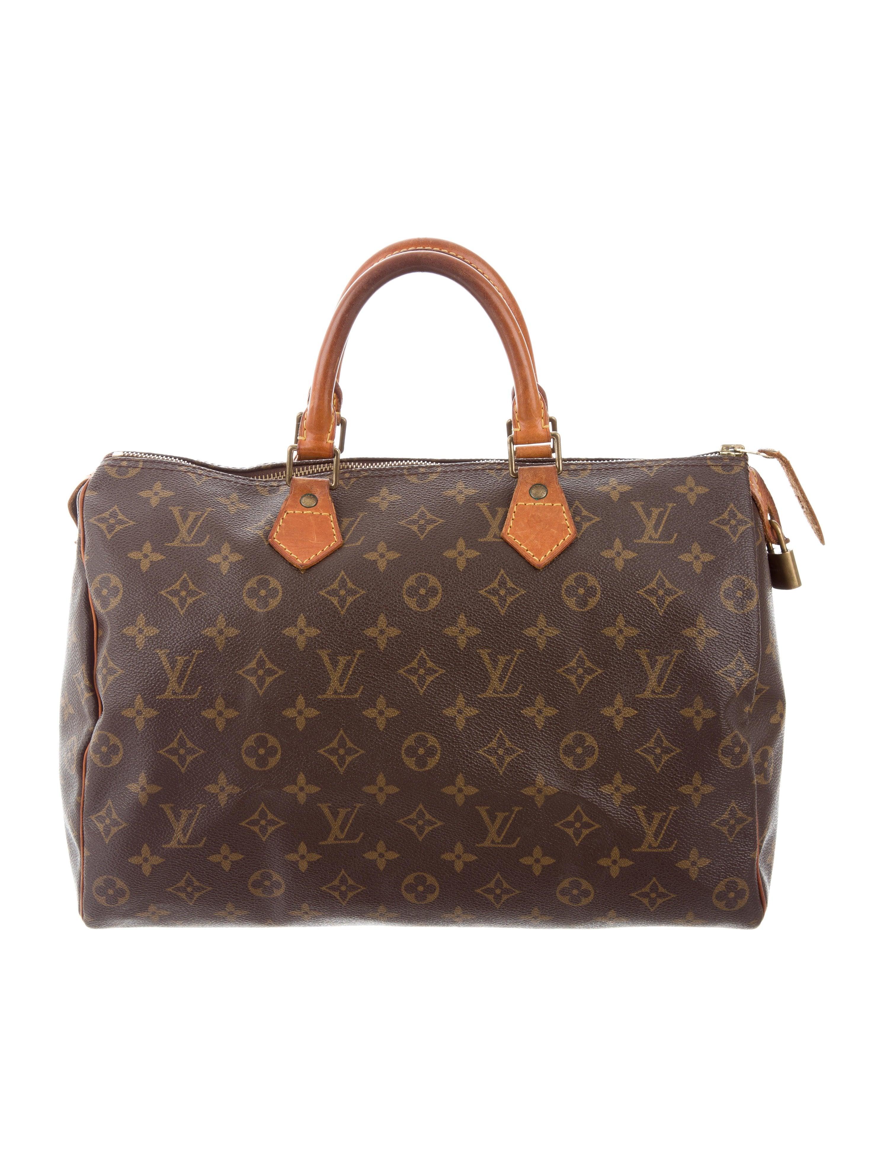 Louis vuitton monogram speedy 35 handbags lou126280 for Louis vuitton miroir speedy 35