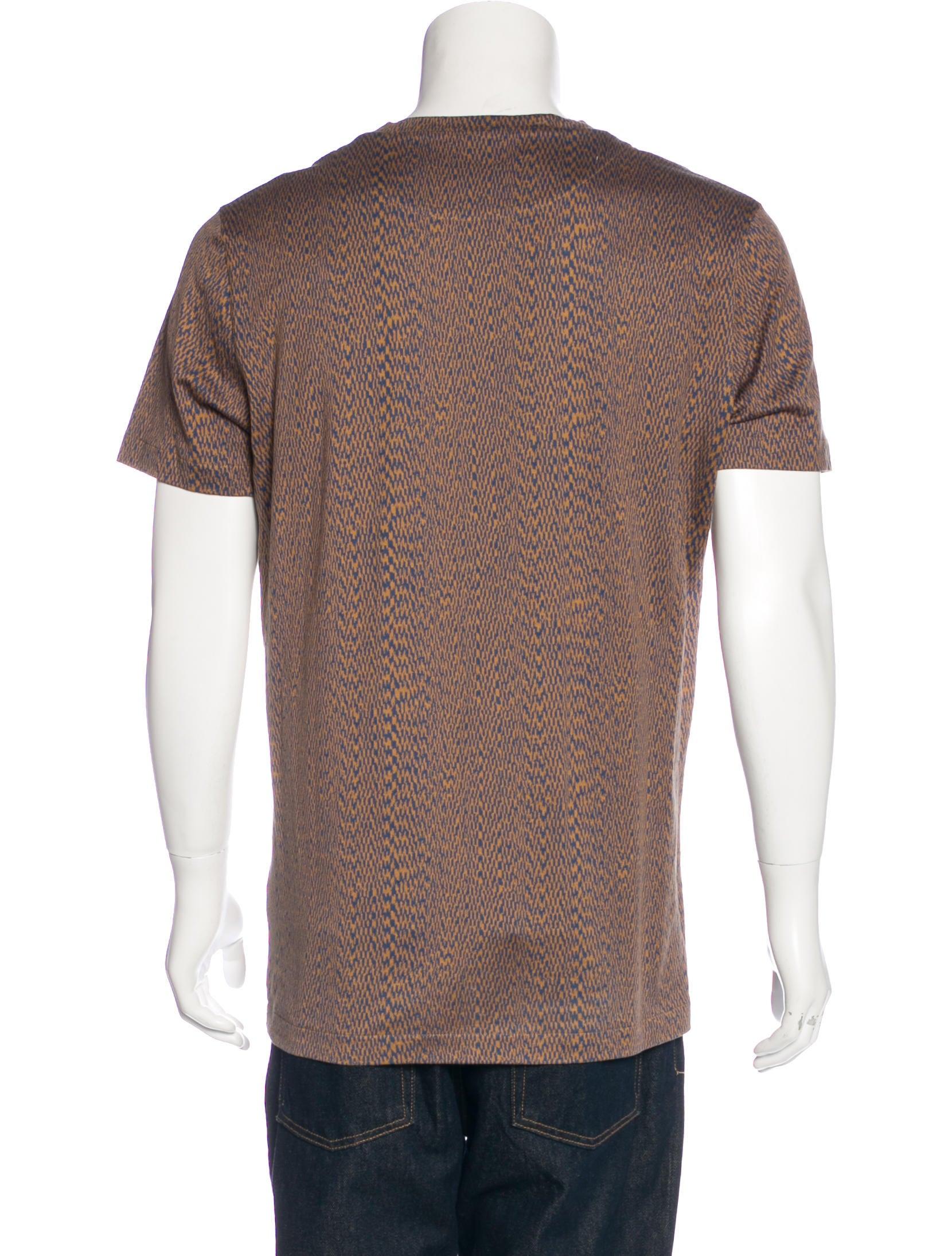 louis vuitton america 39 s cup t shirt clothing lou126671