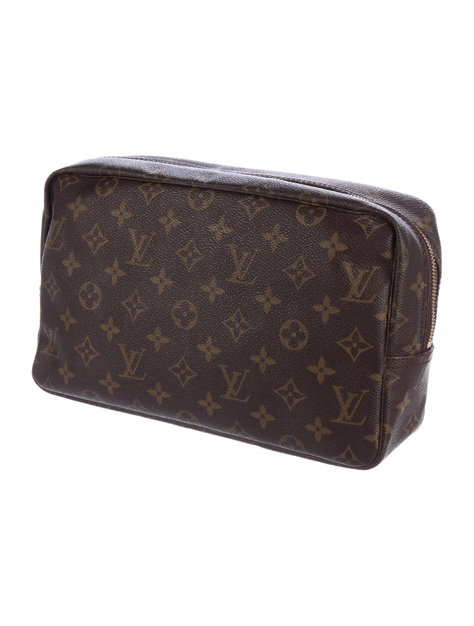louis vuitton vintage monogram trousse toilette 28. Black Bedroom Furniture Sets. Home Design Ideas