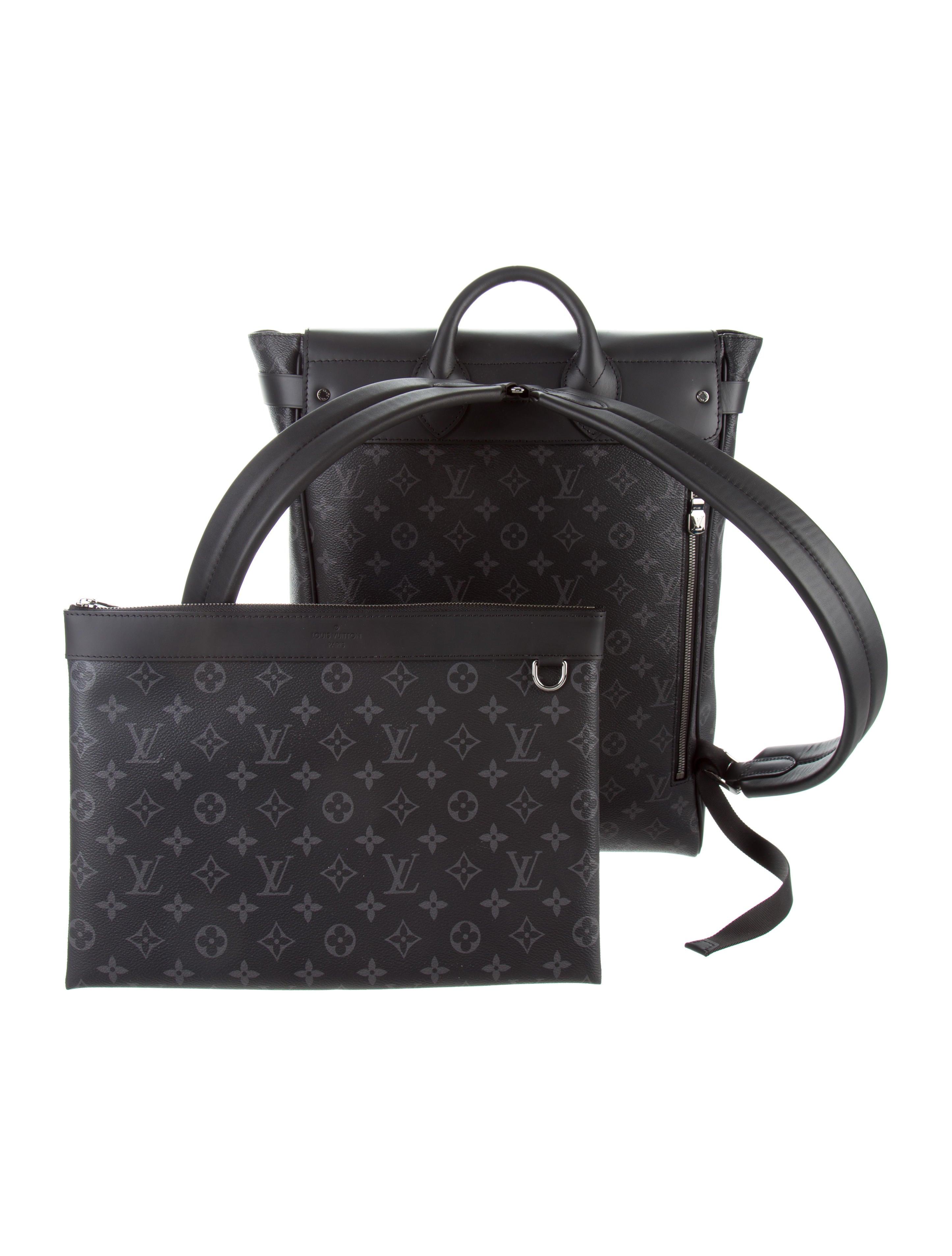 2c2167d3164 Louis Vuitton Apollo Backpack Monogram Eclipse Gray black