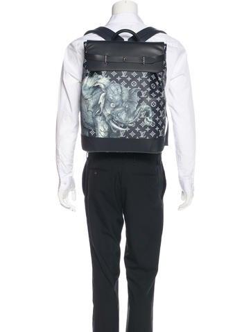 8e671cdddd48 Louis Vuitton 2017 Monogram Savane Steamer Backpack - Bags - LOU127244