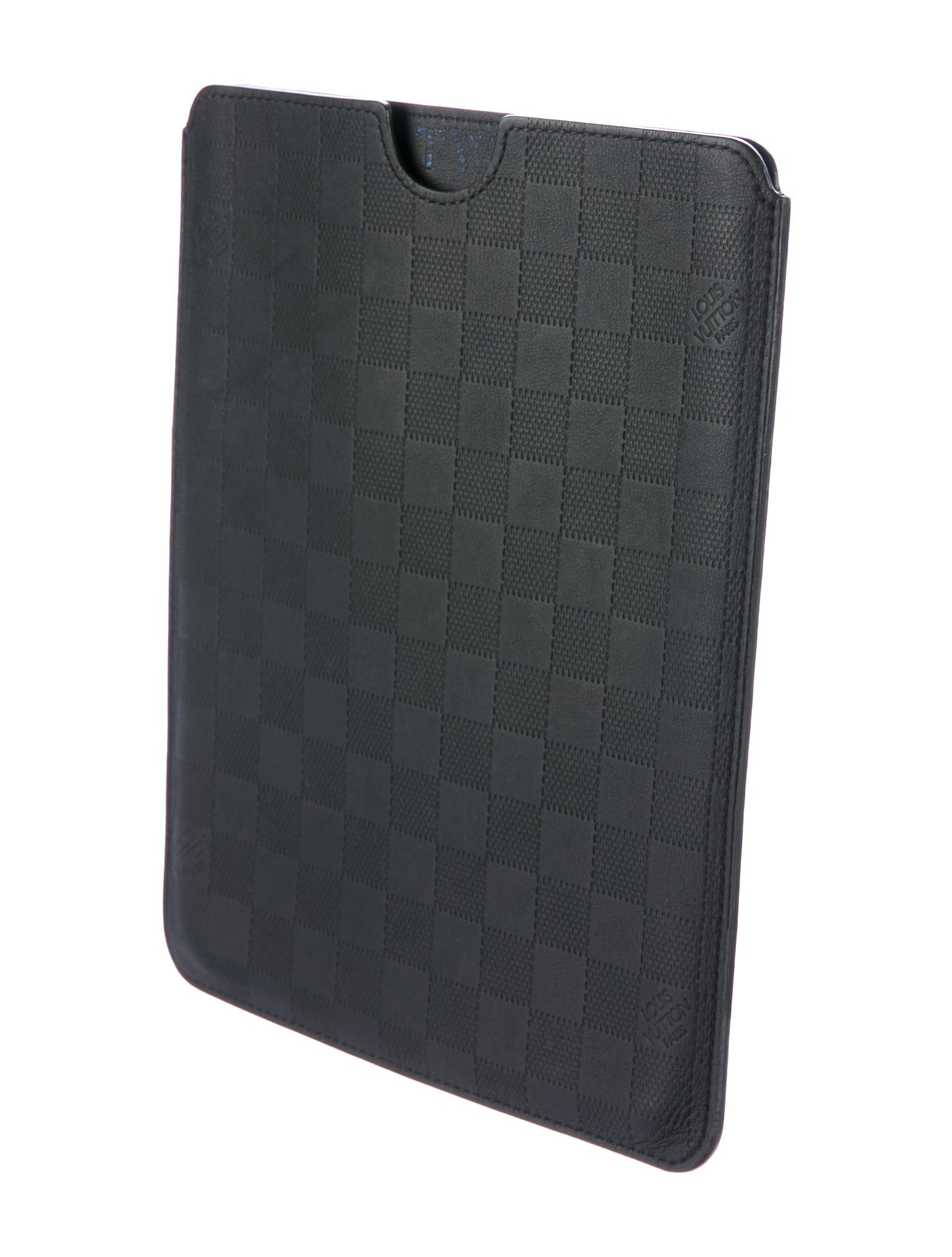 Louis Vuitton Damier Infini Ipad Case Technology