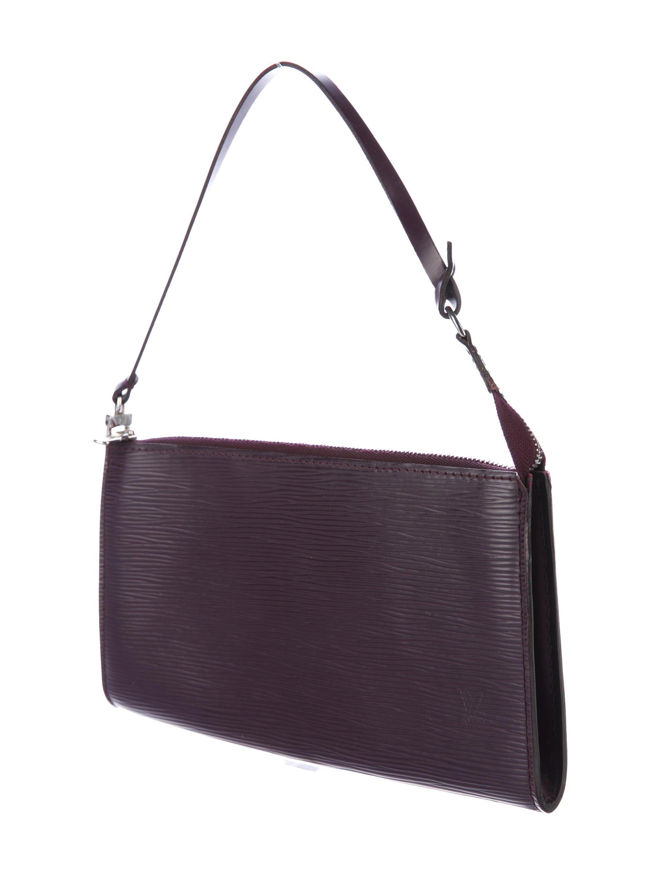 louis vuitton epi pochette accessoires handbags. Black Bedroom Furniture Sets. Home Design Ideas