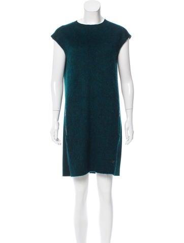 Louis Vuitton Wool Mini Dress None