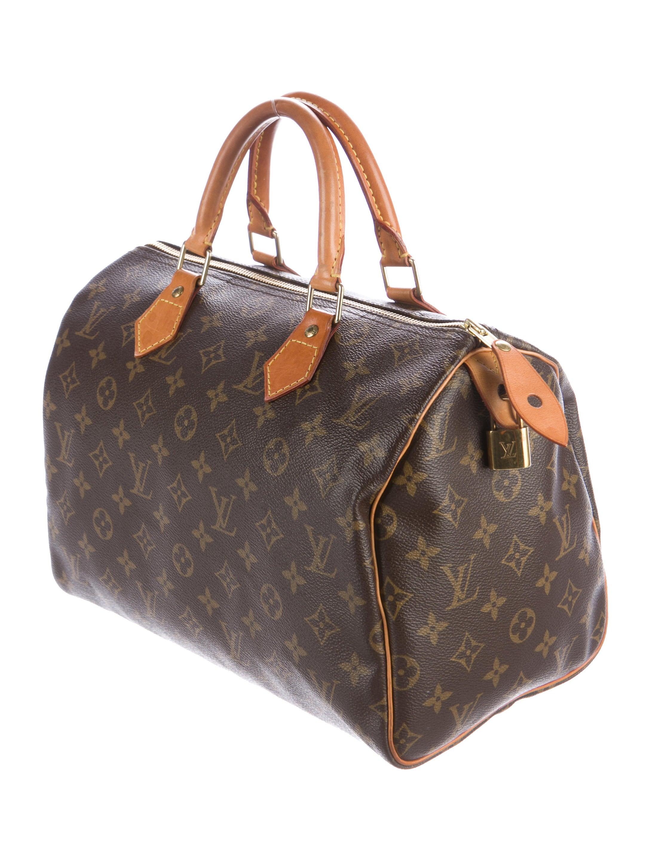 Louis vuitton monogram speedy 35 handbags lou127876 for Louis vuitton miroir speedy 35