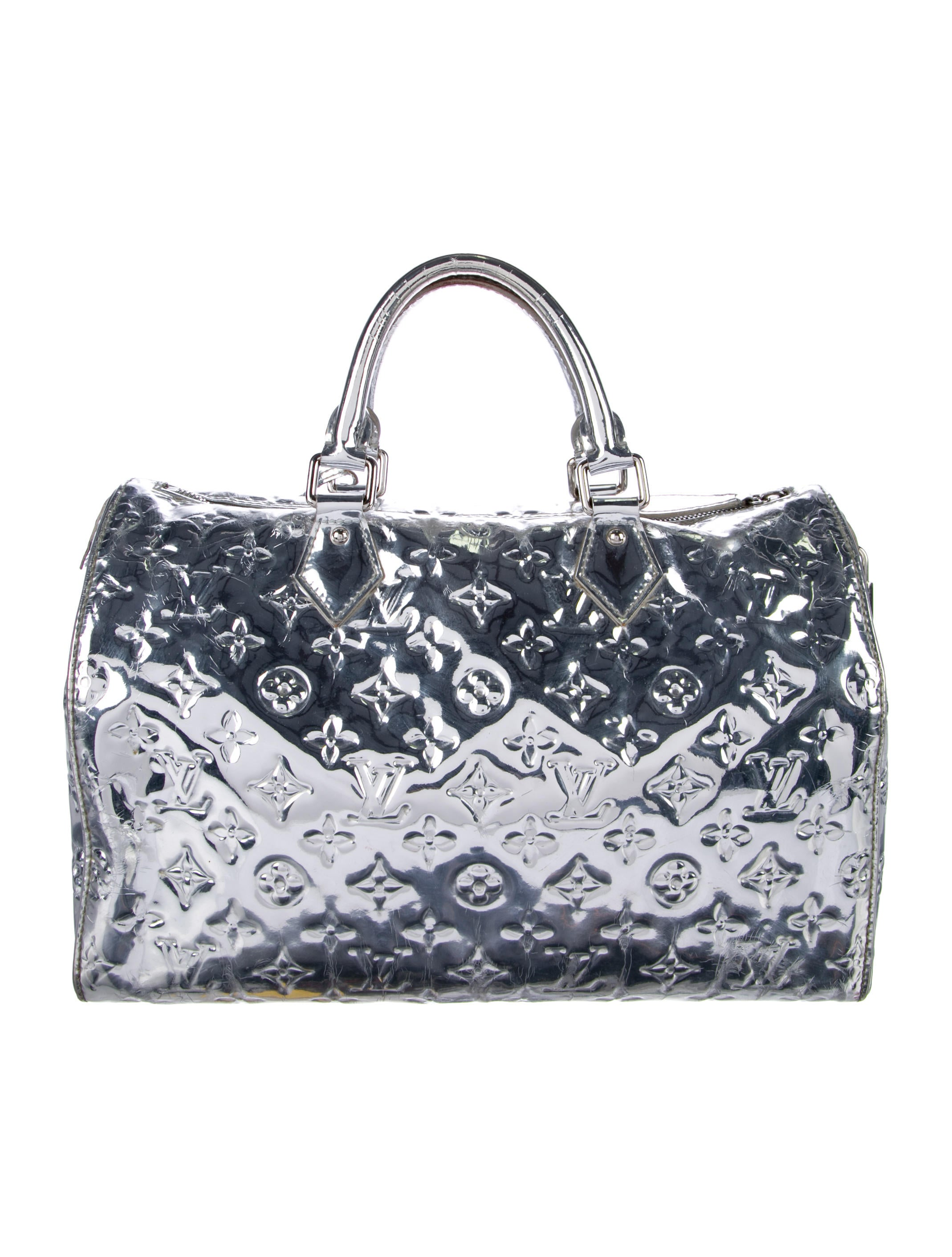 louis vuitton monogram miroir speedy 30 handbags