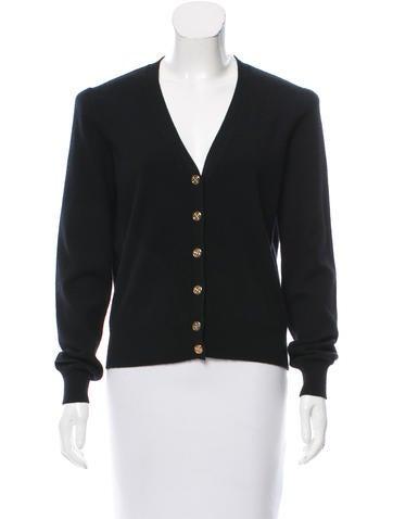 Louis Vuitton Cashmere Button-Up Cardigan None