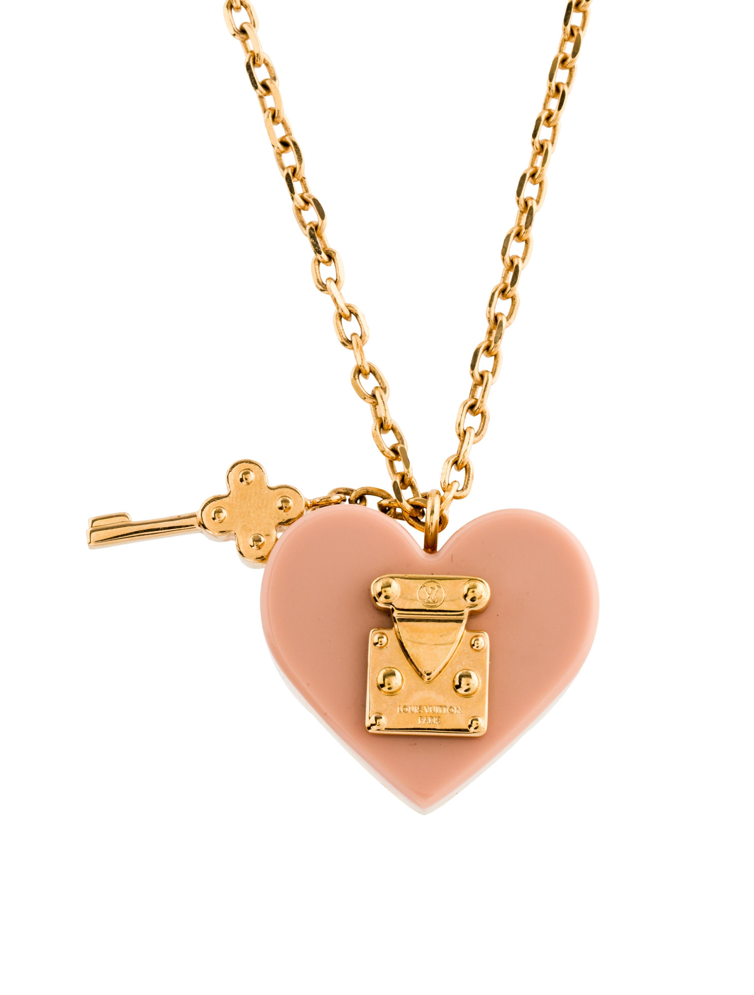 Louis Vuitton Lock Me Pendant Necklace Necklaces