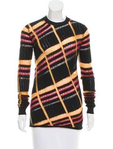 Louis Vuitton Long Sleeve Knit Top None