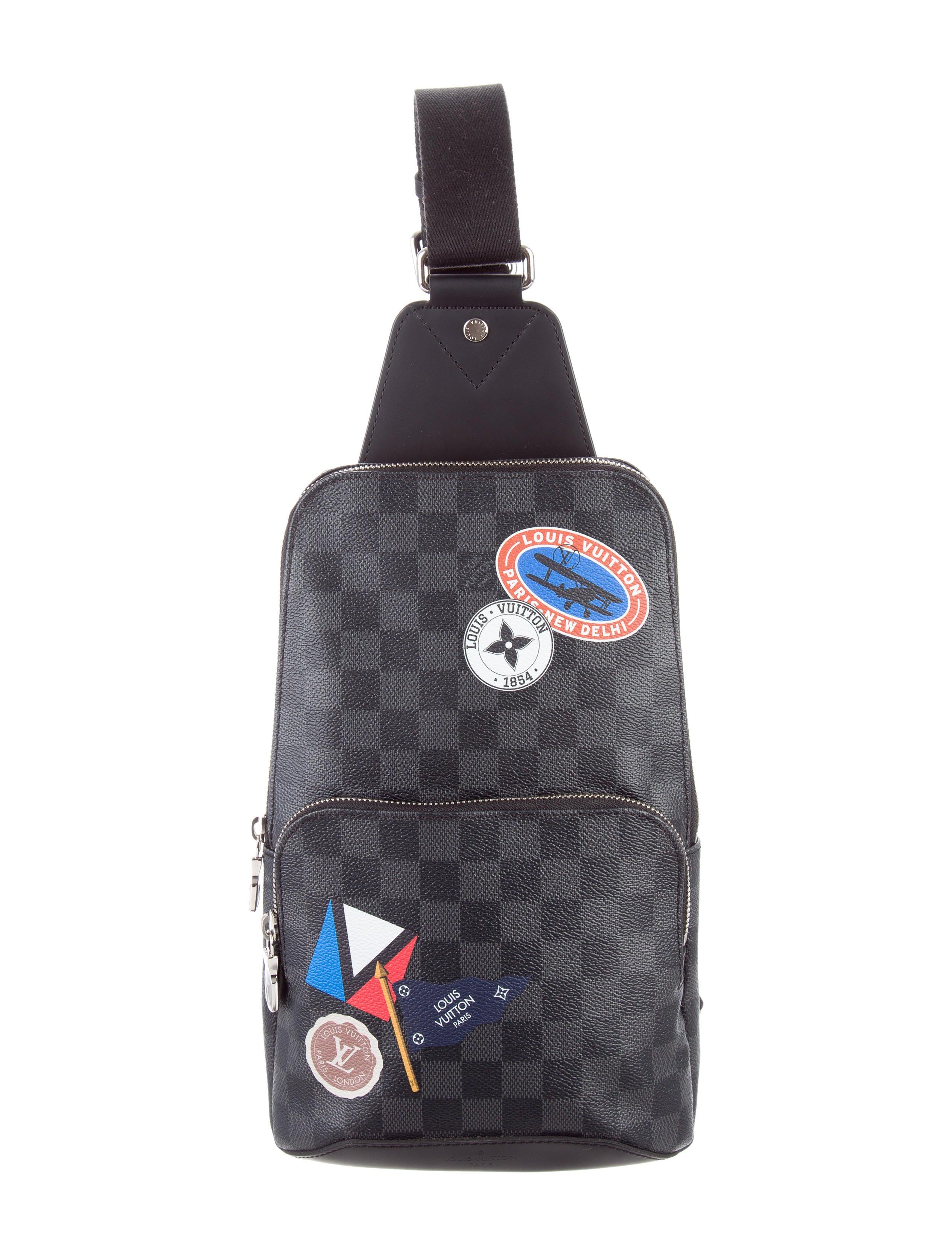 fc5f9b434a43 Louis Vuitton 2017 Damier Graphite Avenue Sling Bag - Bags ...