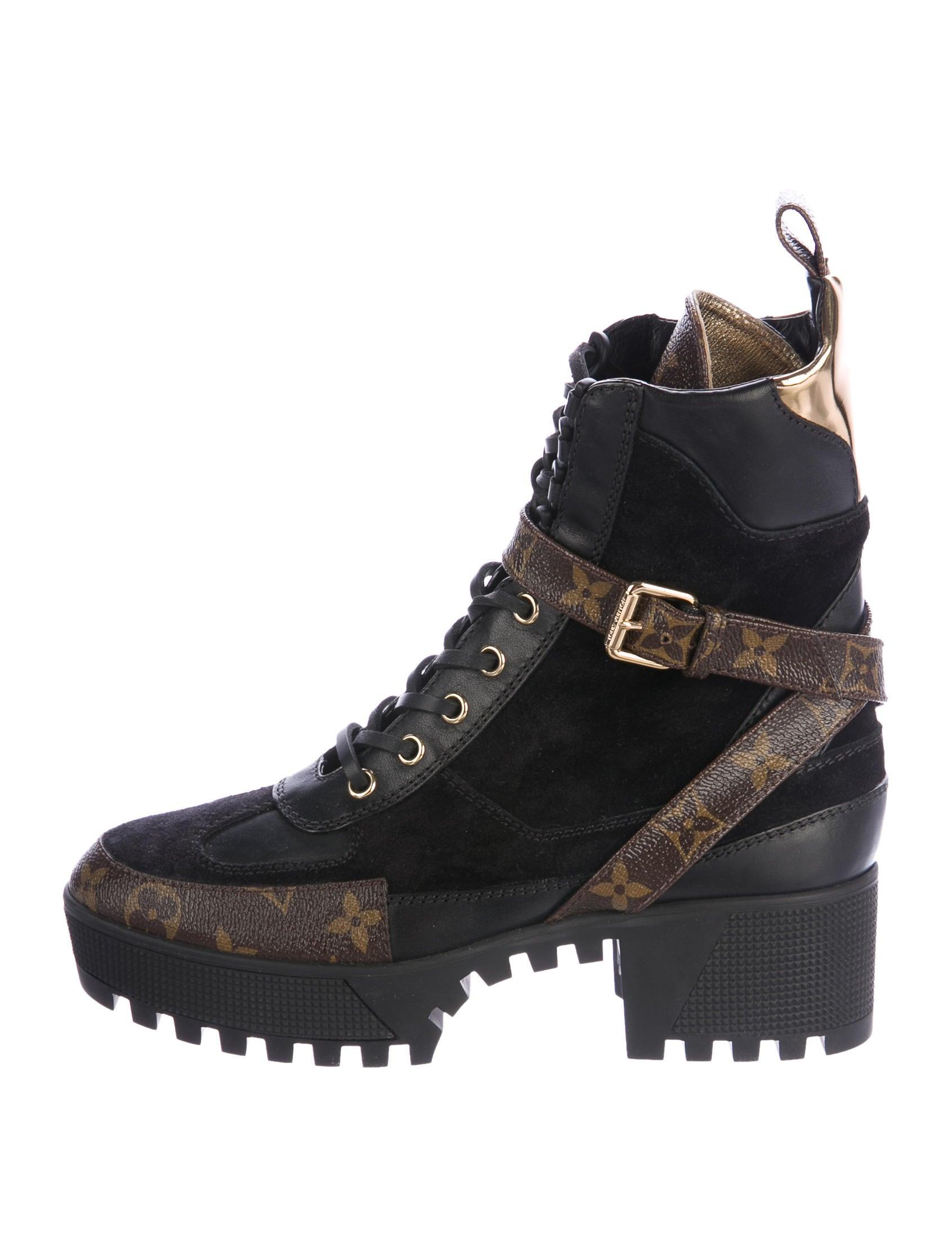 3e236a5ad37d LV LAUREATE 2 DESERT BOOT Source · Louis Vuitton 2017 Laureate Platform Desert  Boots Shoes