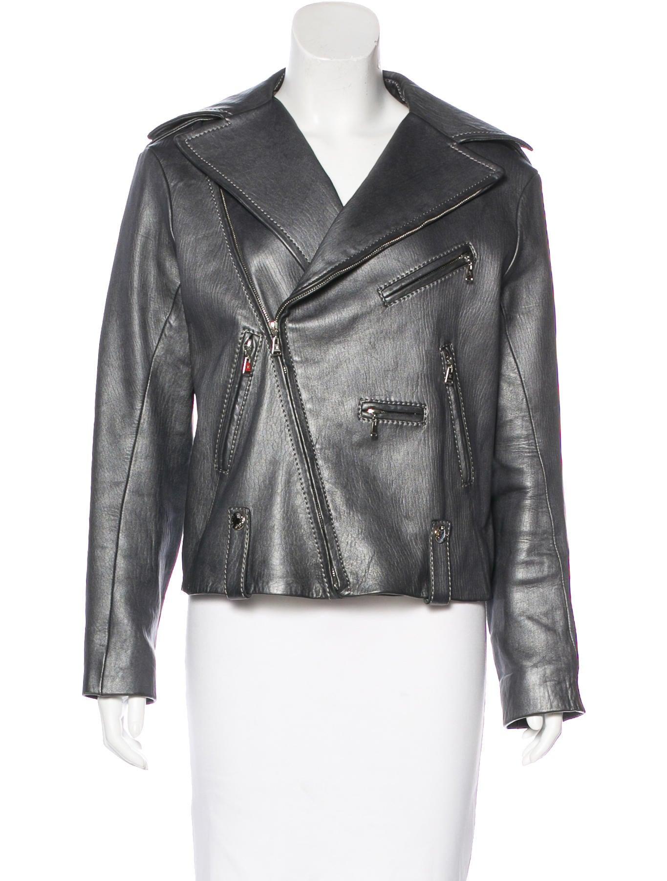 Louis vuitton leather jacket